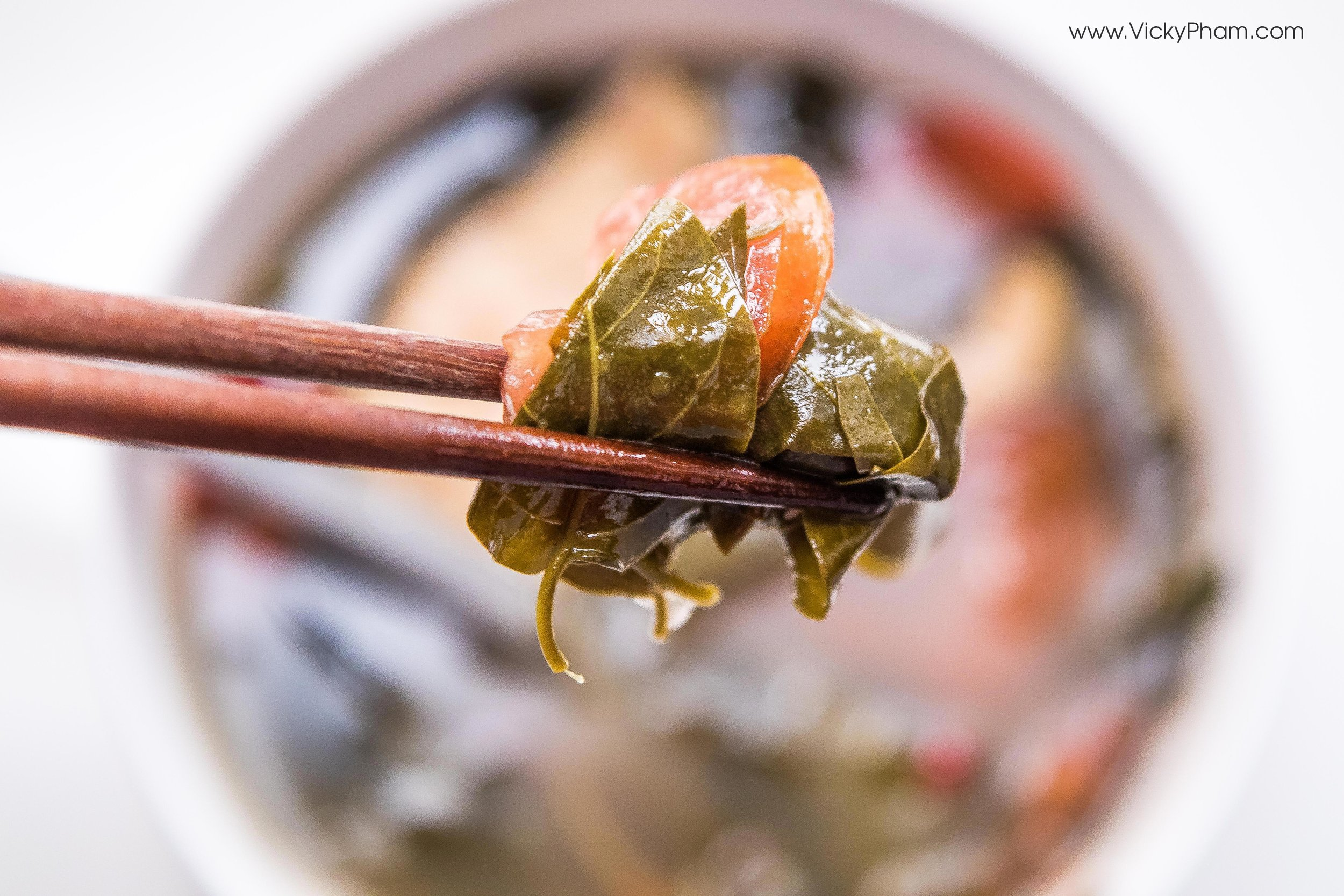 Vietnamese Sour Soup with River Leaf (Canh Chua La Giang)