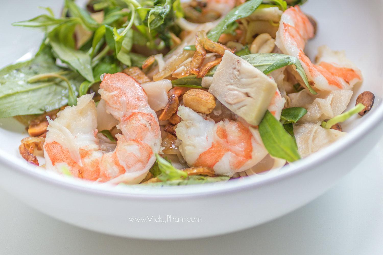 Gá»i Mít Non Tôm (Vietnamese Young Jackfruit and Shrimp Salad)