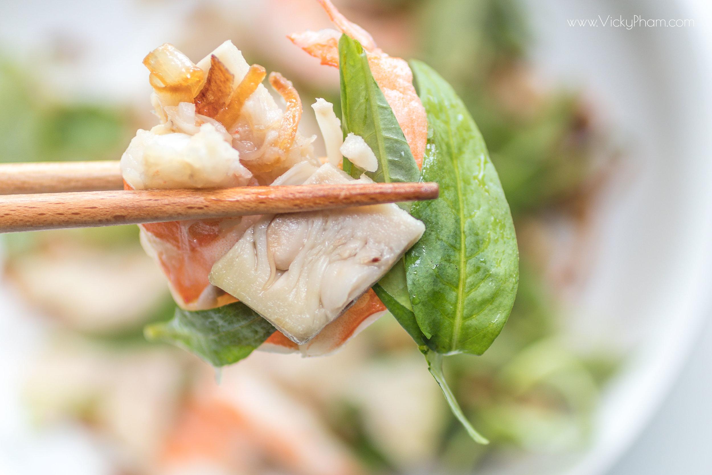 Goi Mit Non Tom (Vietnamese Young Jackfruit and Shrimp Salad)