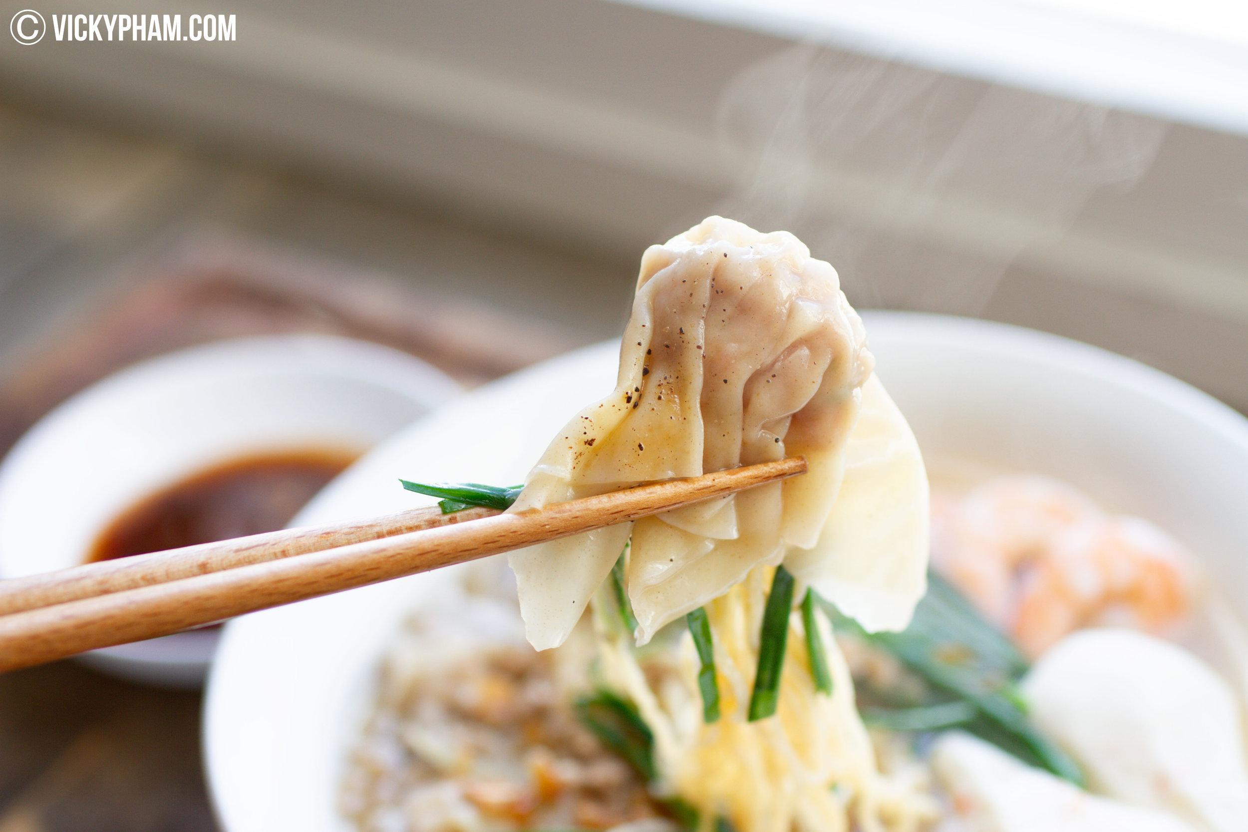 Shrimp & Pork Wonton (Hoành Thánh Tôm Thịt)