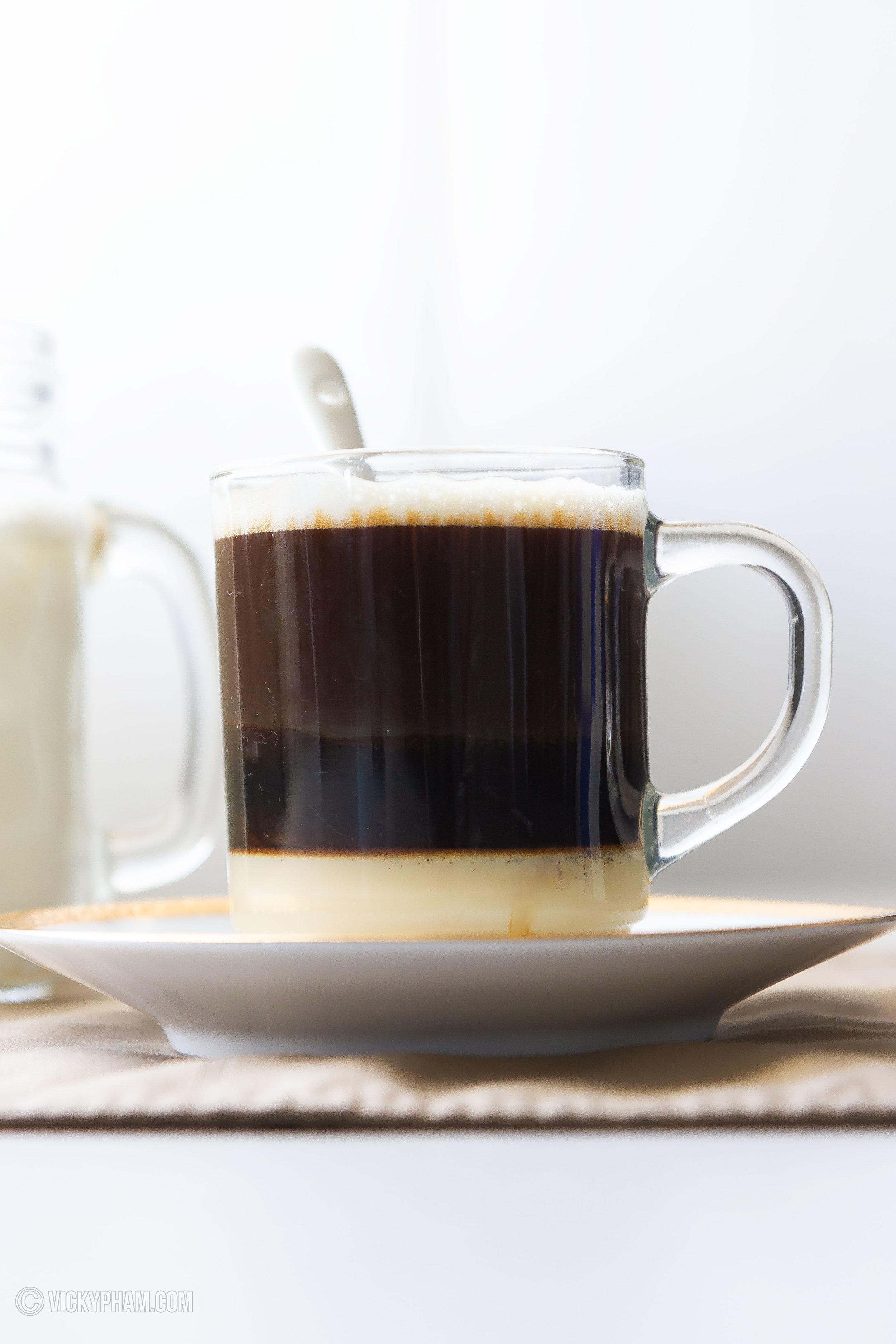Vietnamese Hot Milk Coffee (Ca Phe Sua Nong)