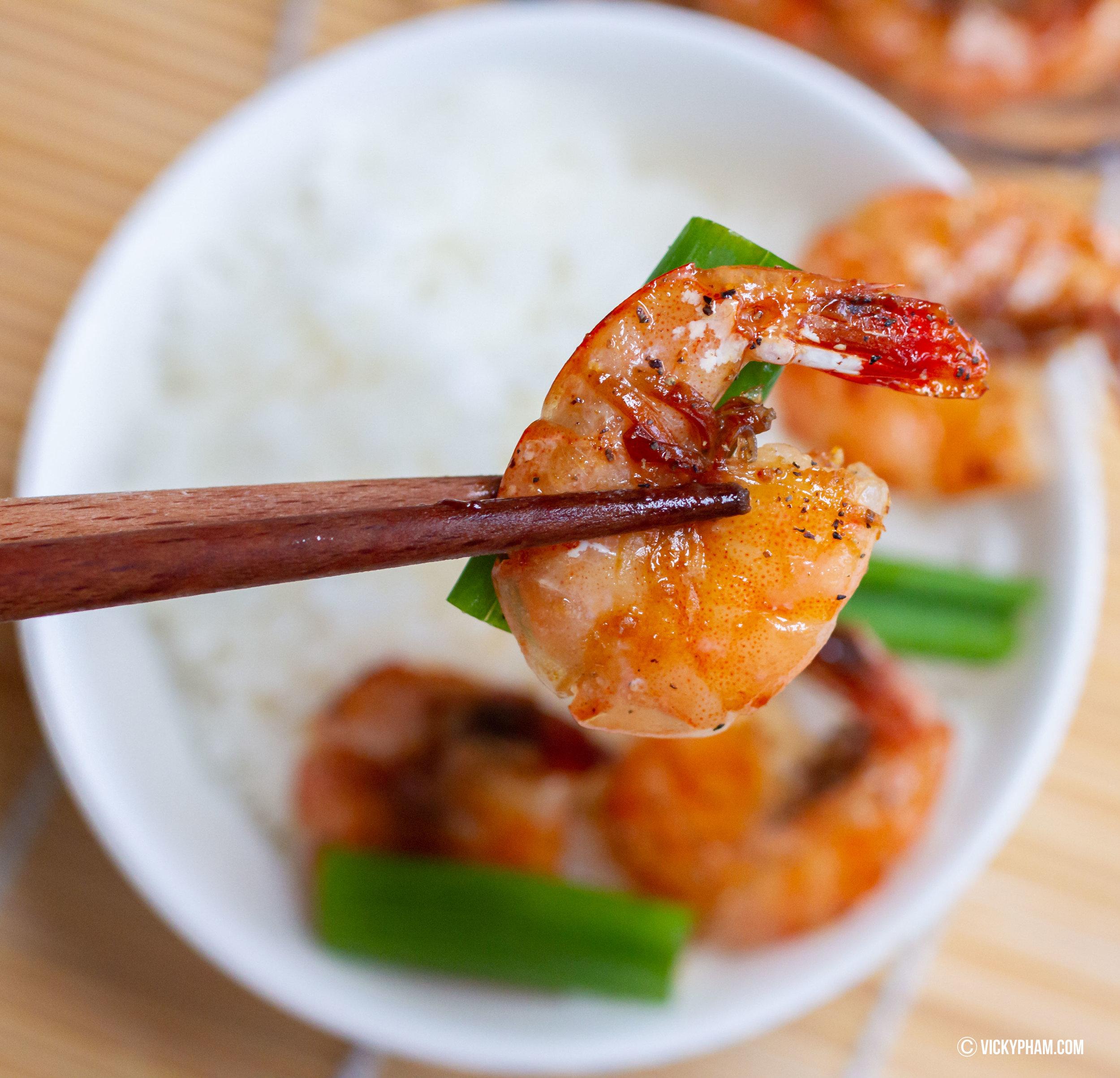 Vietnamese Caramelized Shrimp (Tom Rim)