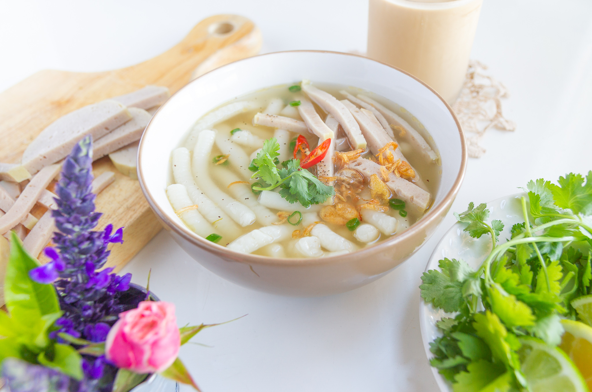 Vietnamese Banh Canh Noodles from Scratch (Cach Lam Soi Banh Canh)
