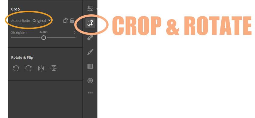Adobe Lightroom Editing: Aspect Ratio