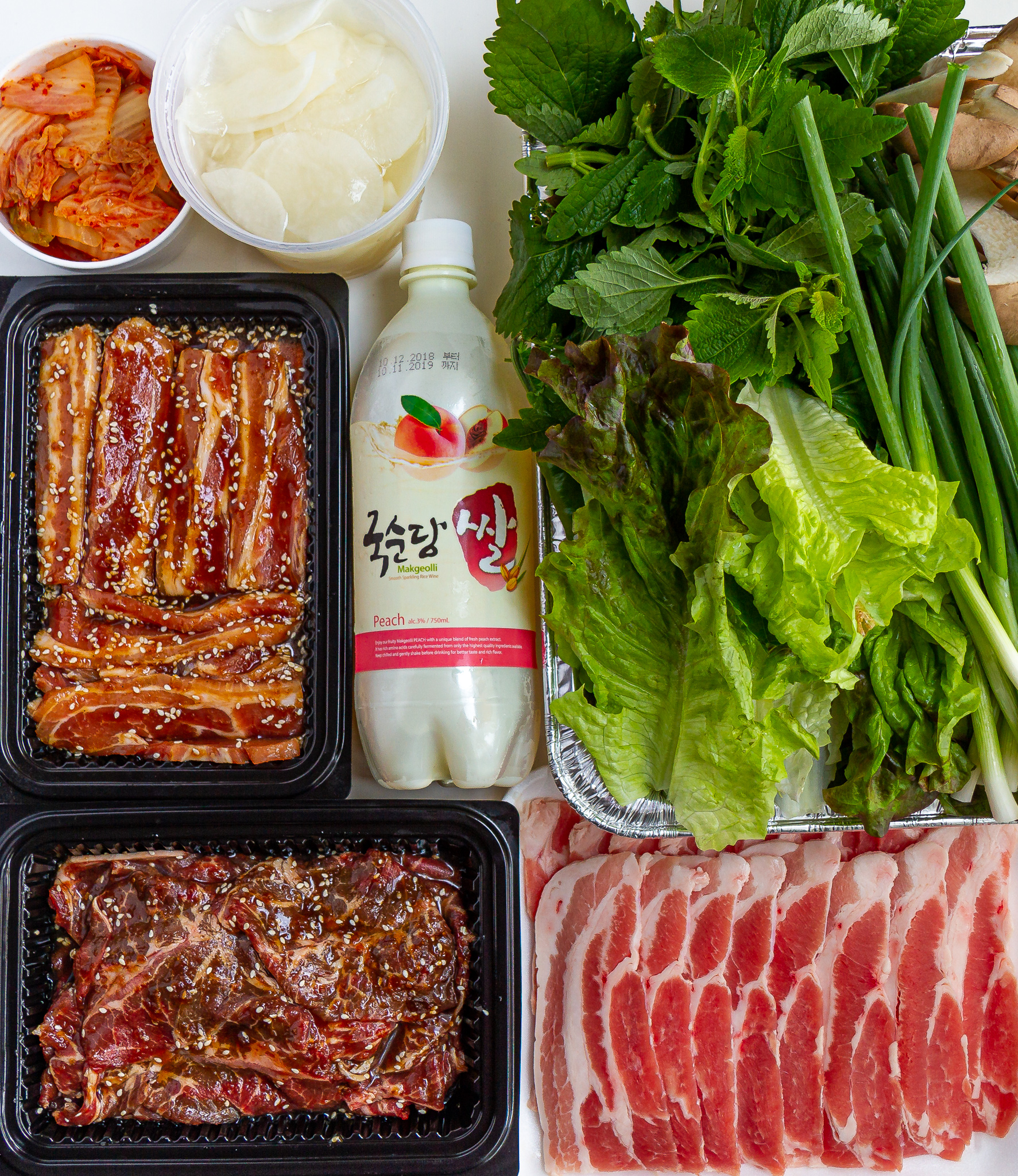 Korean BBQ: Easy Beef & Pork Belly Bulgogi Marinade