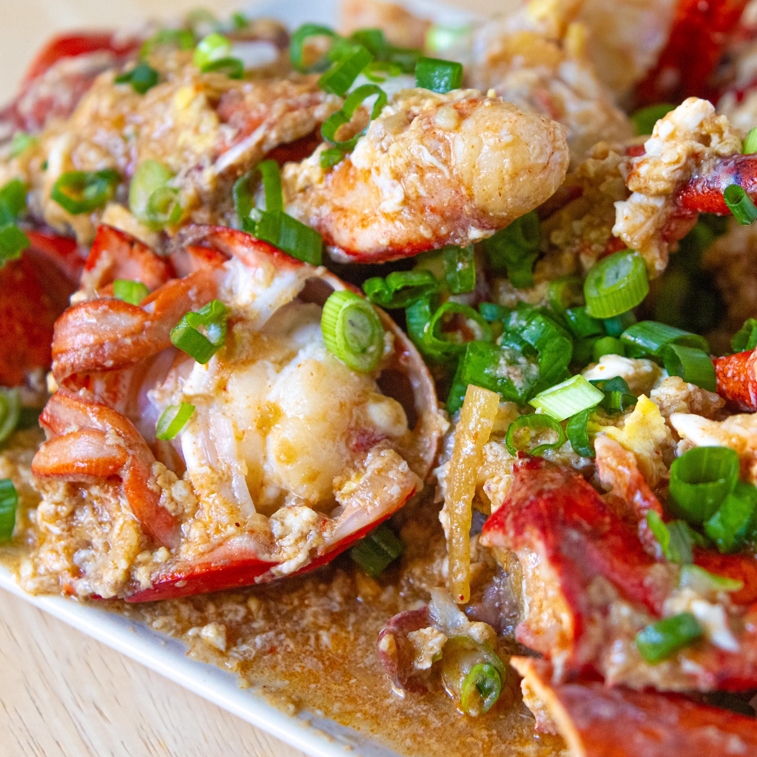 Singaporean Chili Crab / Lobster