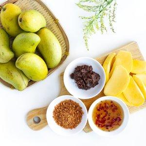 Four Popular Vietnamese Unripe Green Mango Dipping Sauces