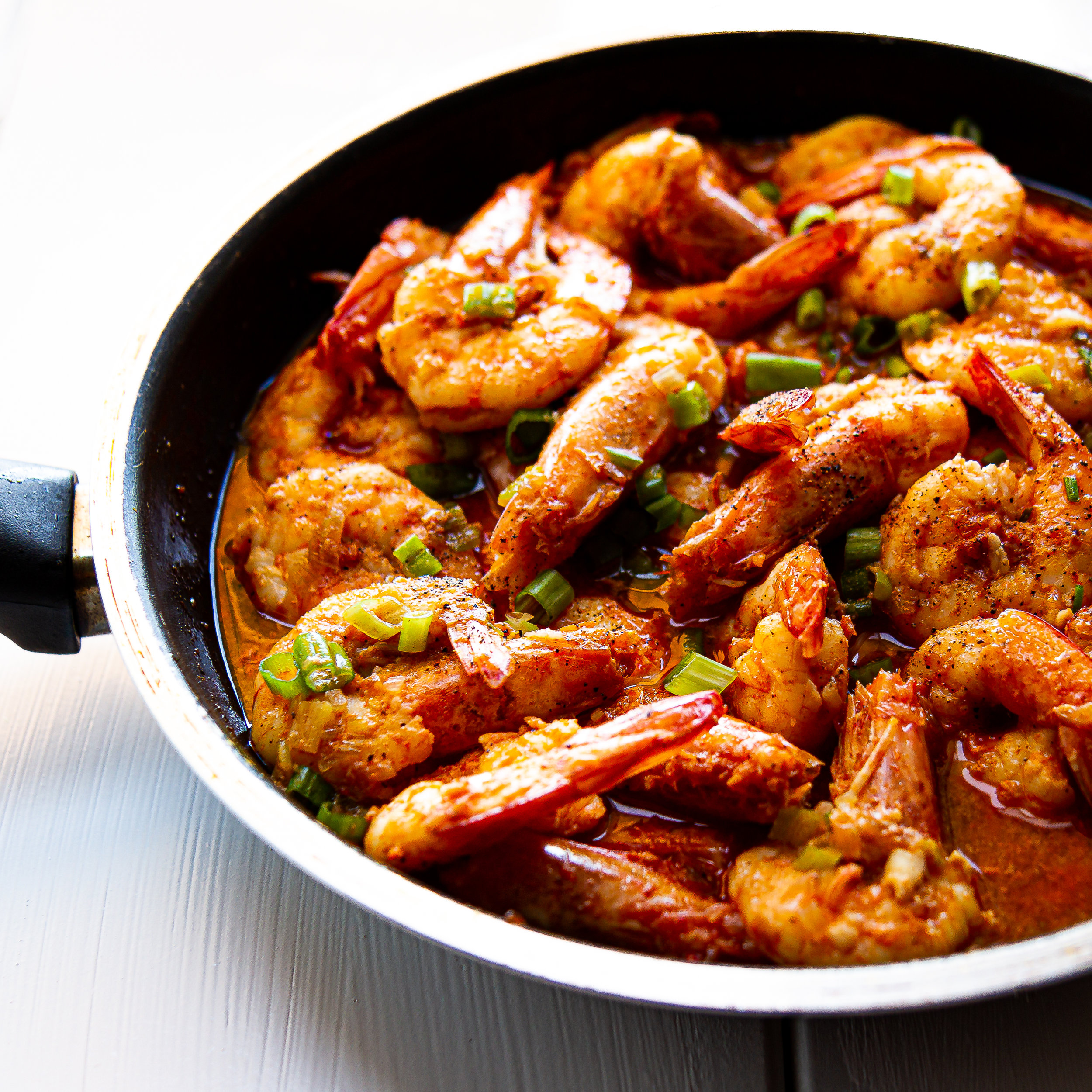 Vietnamese Sauteed Prawns in Roe / Tomalley Sauce (Tom Kho Tau Gach Do)