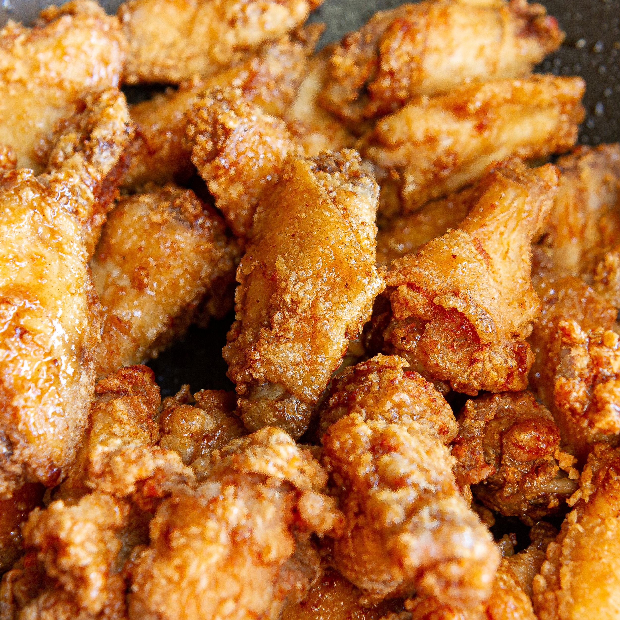 Vietnamese Fish Sauce Chicken Wings (Ga Chien Nuoc Mam)