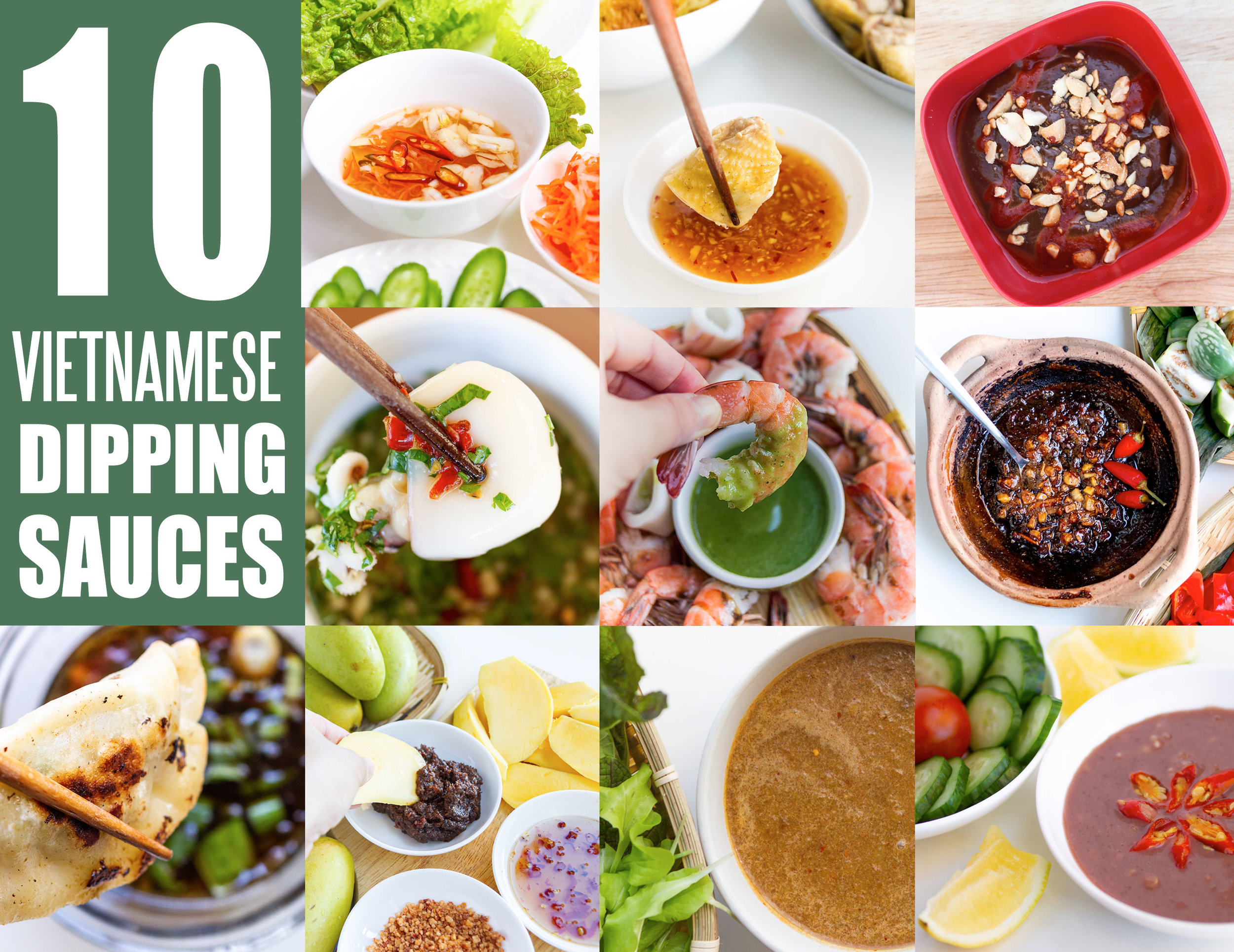 10 Popular Vietnamese Dipping Sauces