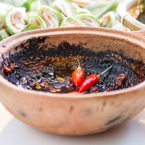 Vietnamese Vegetable Dipping Sauce with Caramelized Fish Sauce (Mắm Kho Quẹt)