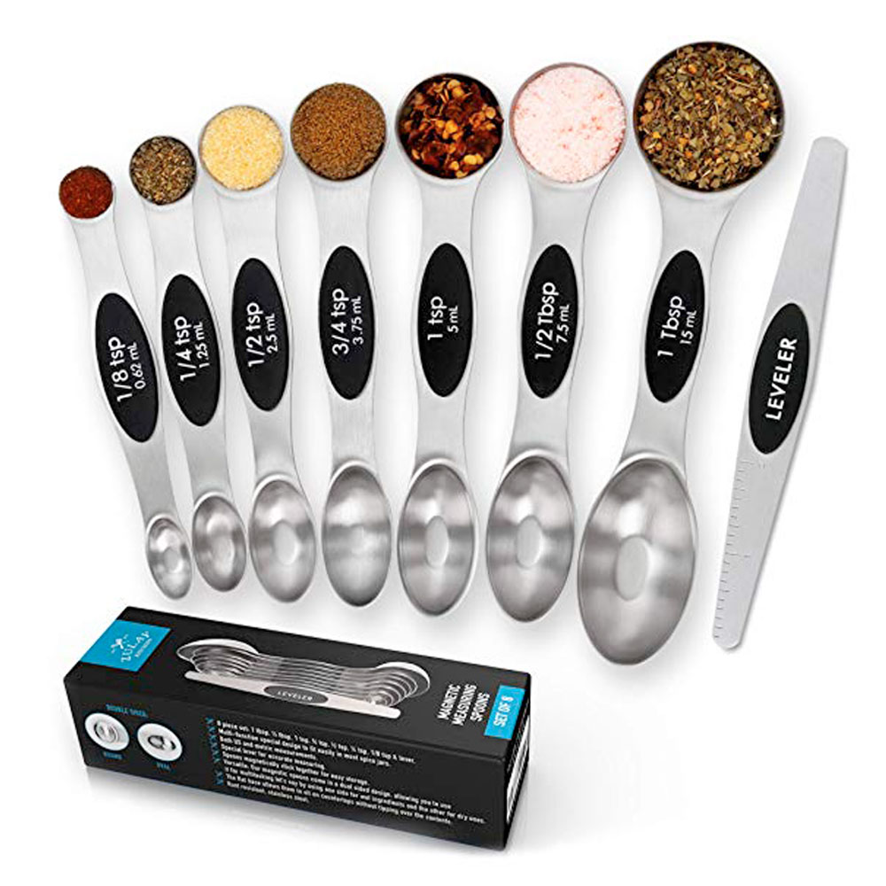 Double Head Magnetic Measuring Spoons