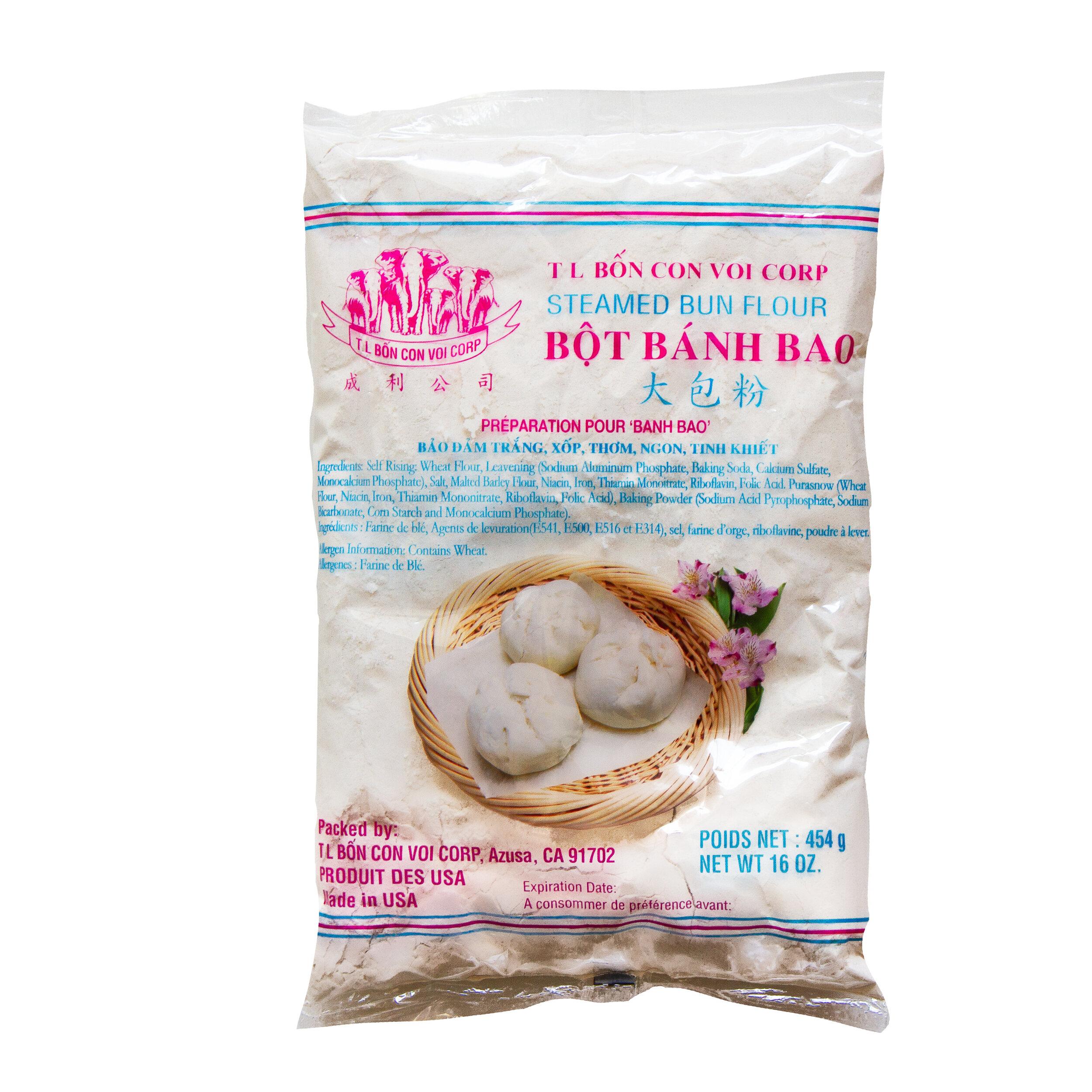 Steamed Pork Bun Flour Mix (Banh Bao)