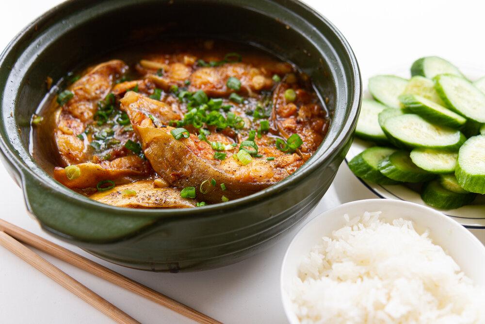 Vietnamese Braised Catfish in Clay Pot (Cá Kho Tộ)