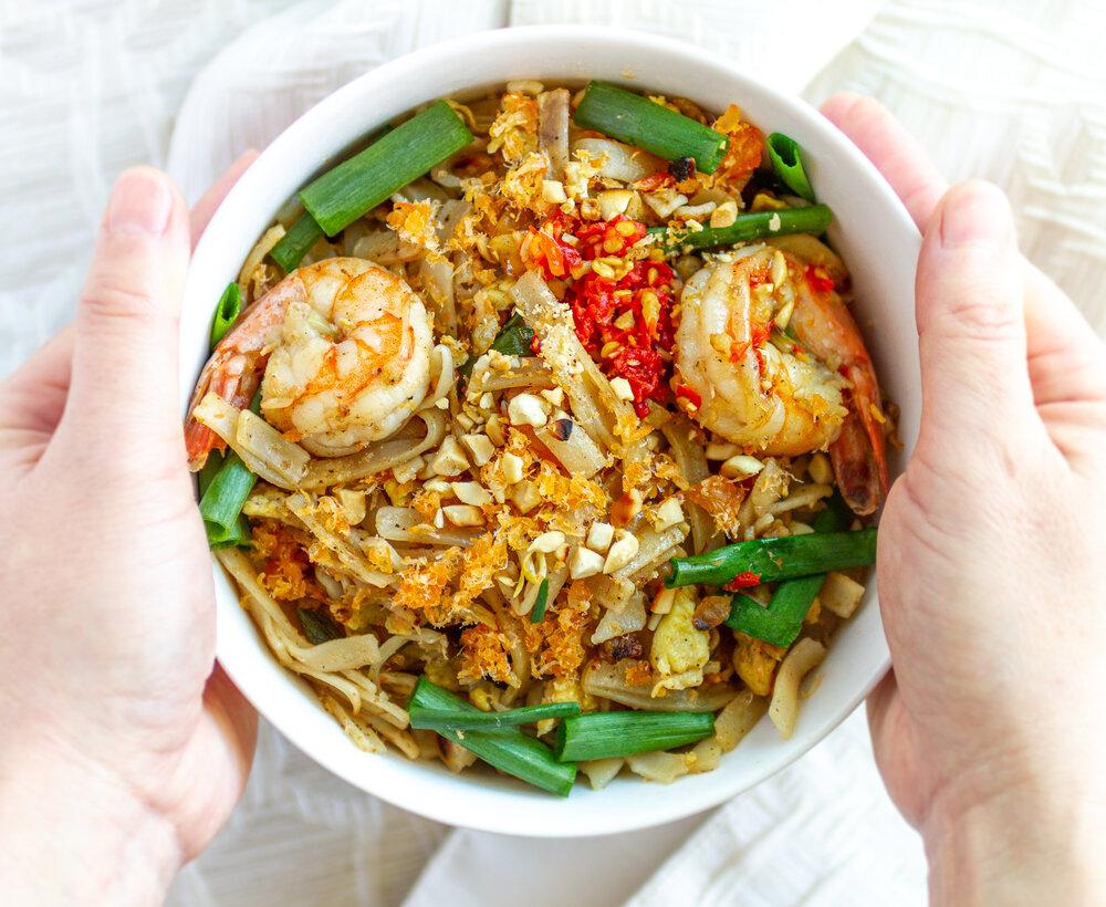 Easy Pad Thai Recipe (Hủ Tiếu / Phở Xào Thái Lan)
