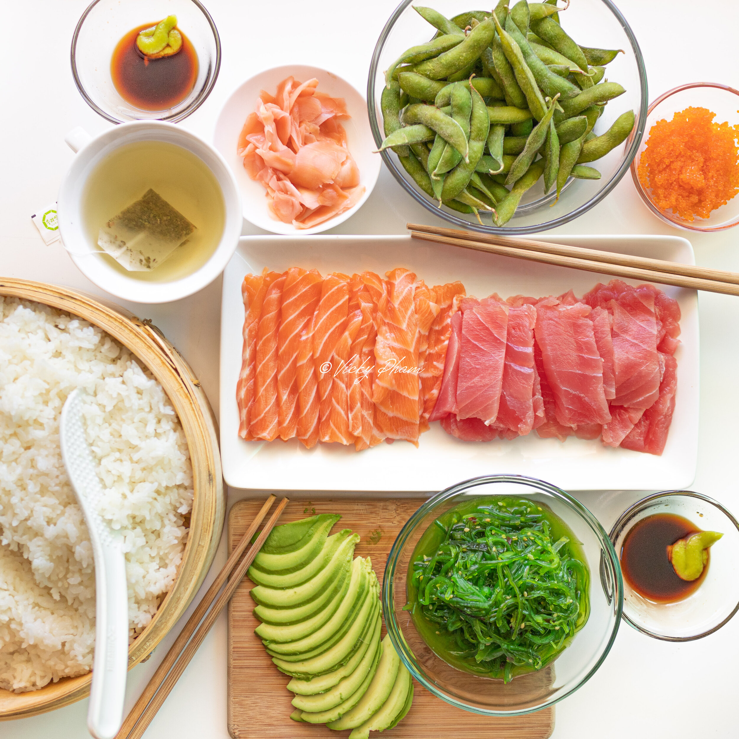 How To Make Sushi Rice In A Rice Cooker Vietnamese Home Cooking Recipes