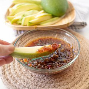 Vietnamese Green Mango Sweet & Savory Dipping Sauce (Nước Mắm Chấm Xoài)