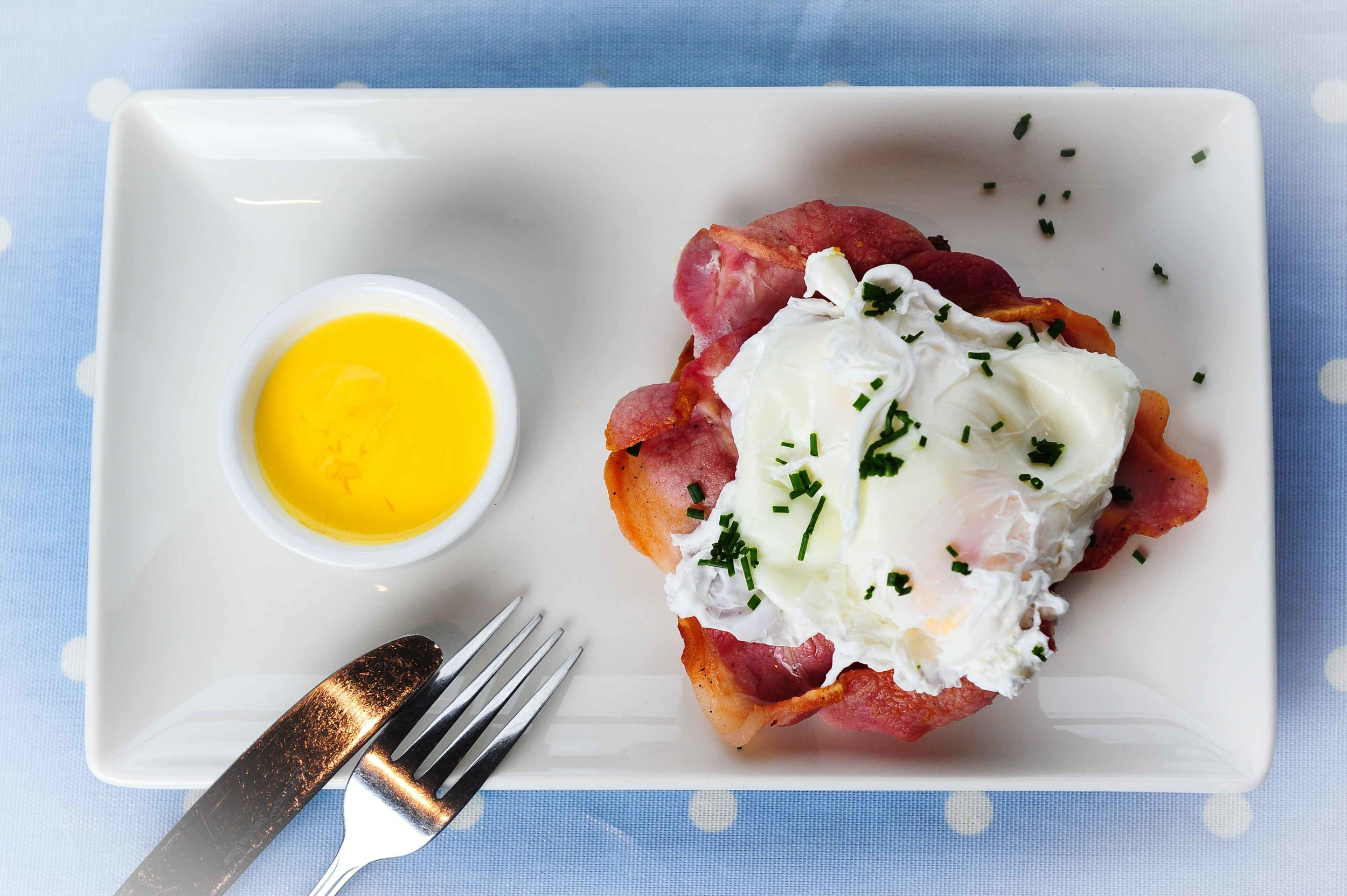 Mmmmm! - bacon & eggs.