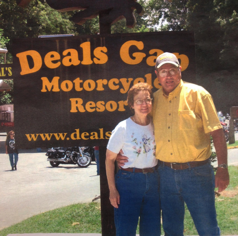 Phil and Joyce Humphreys at Deals Gap