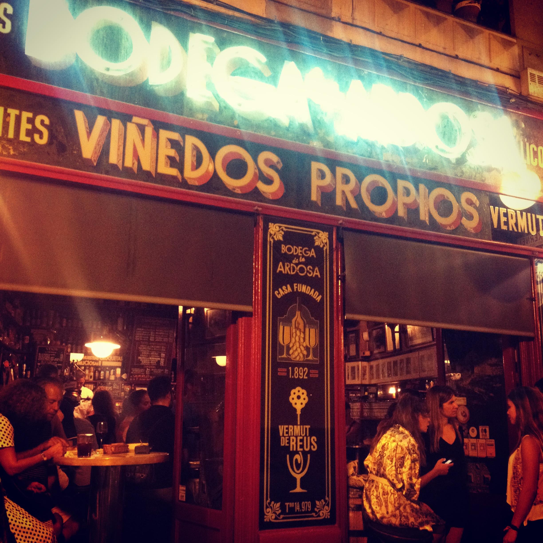 Quite the tortilla bar at Ardosa