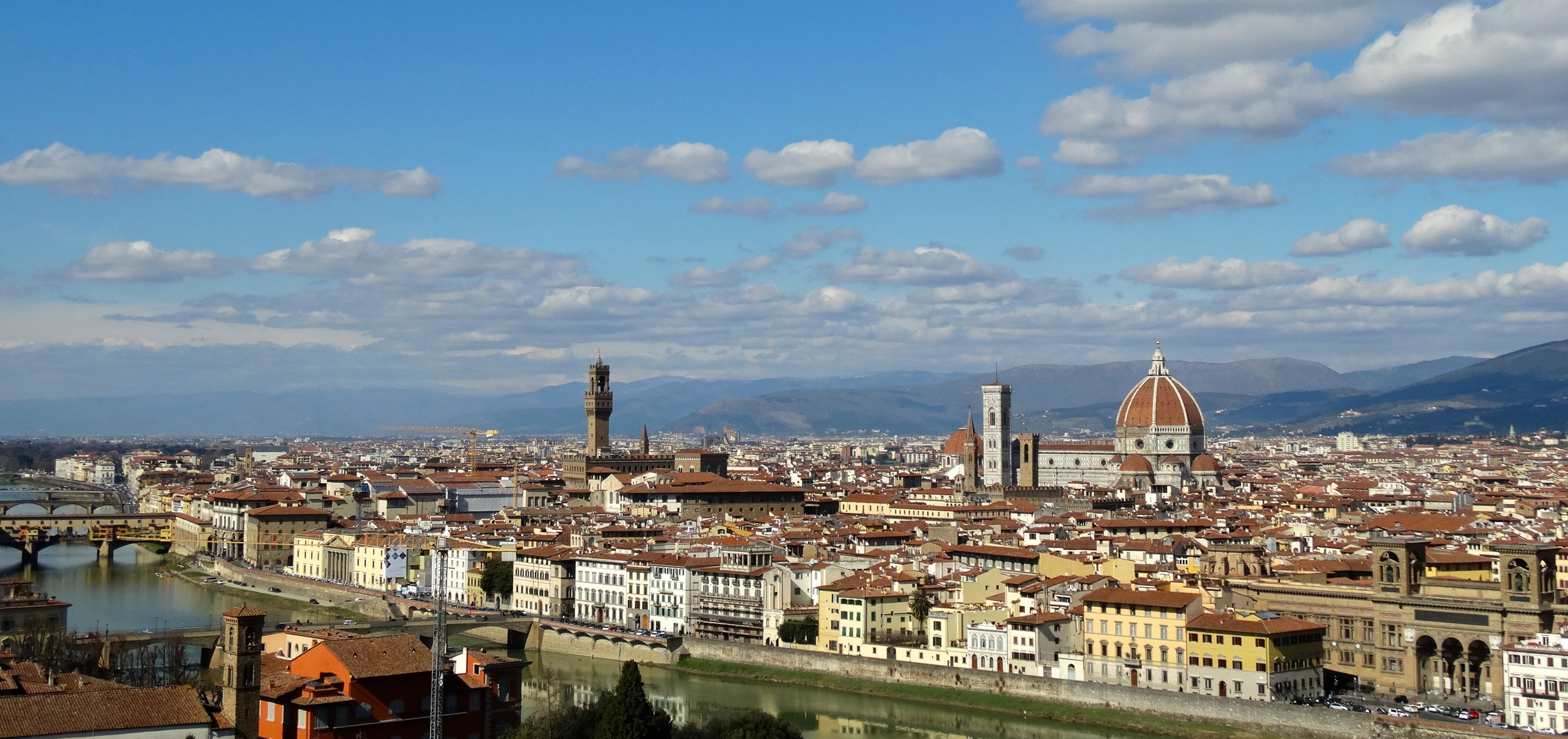 The view to Florence