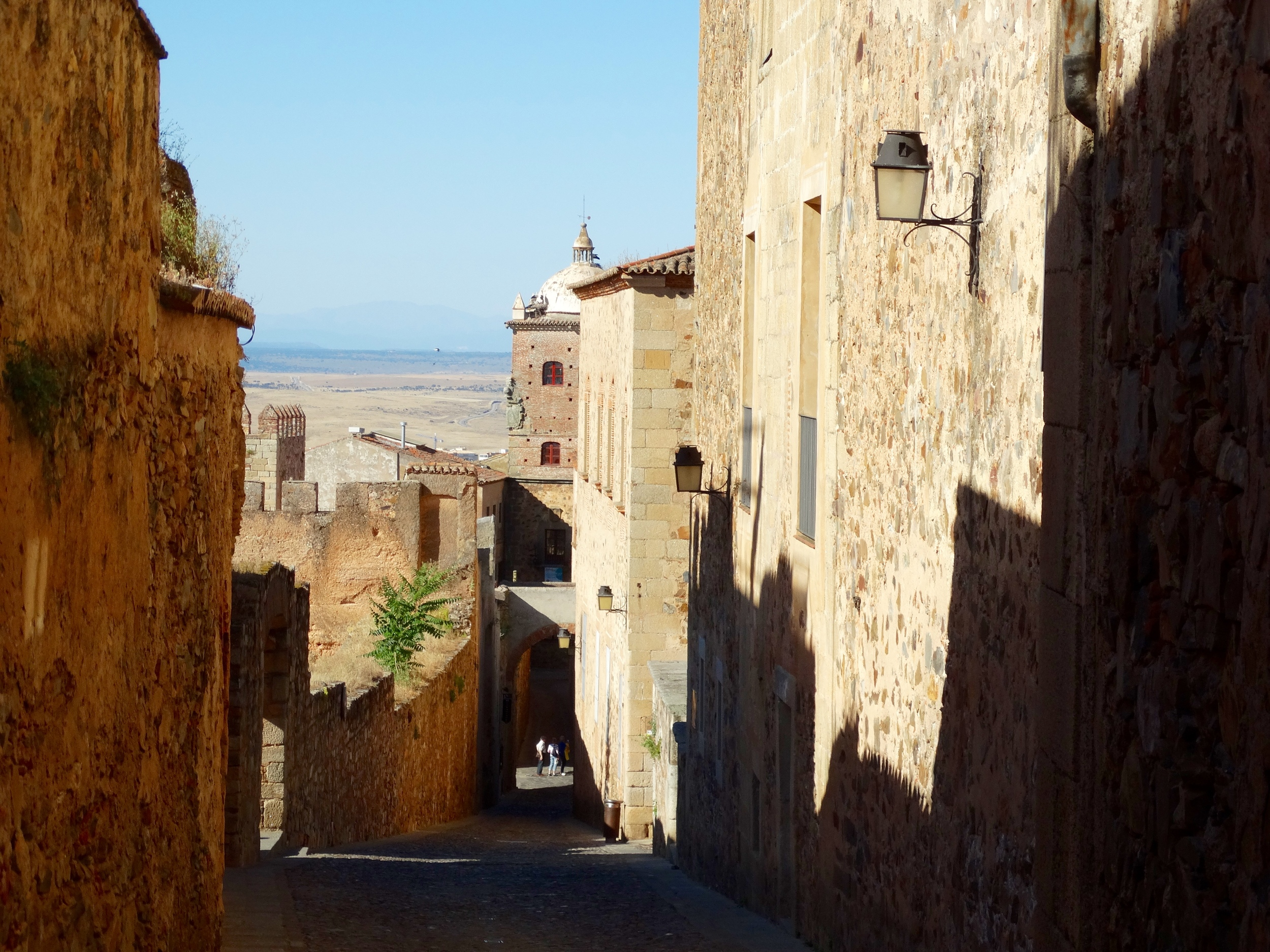 In the belly of Caceres