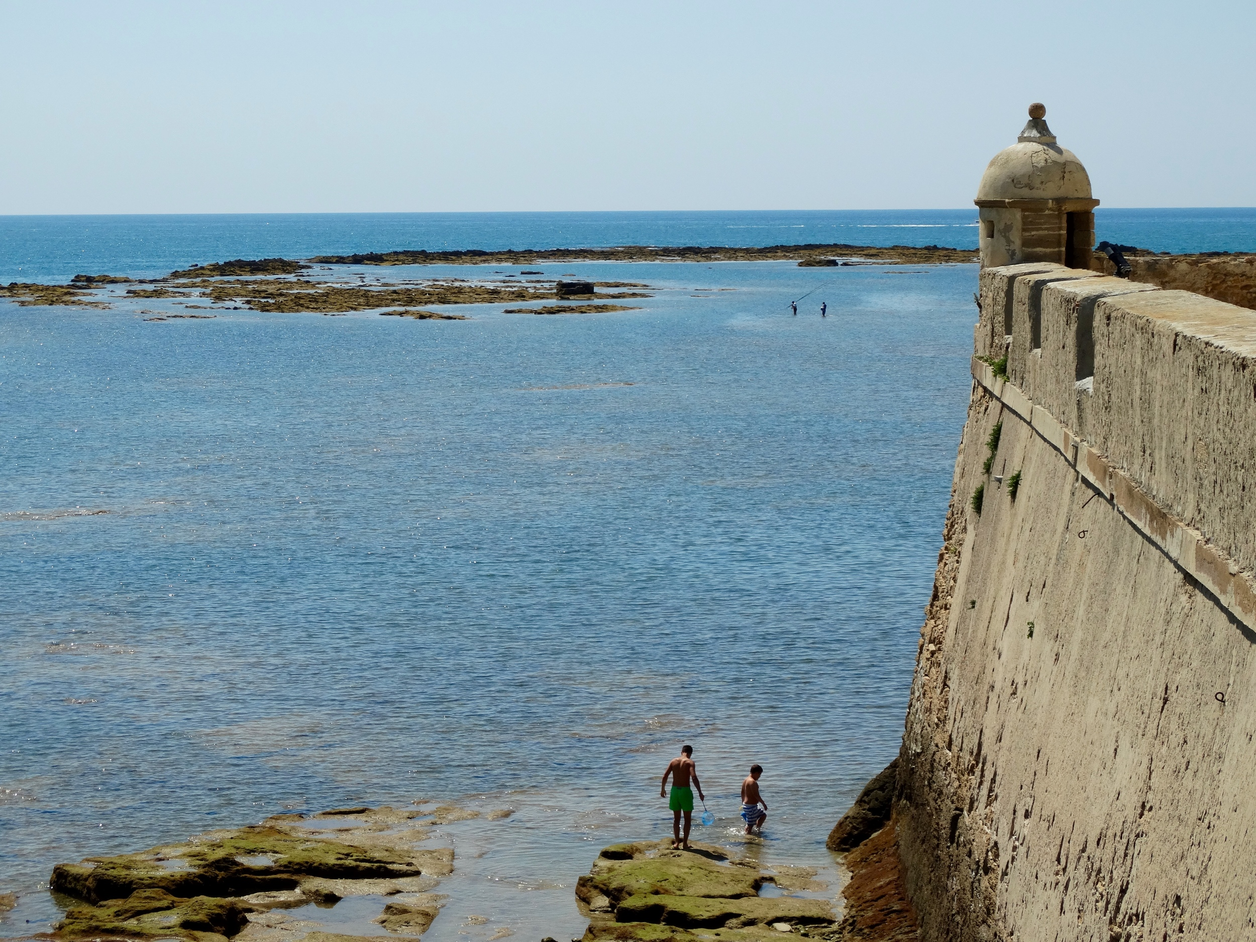 Forts and fishermen