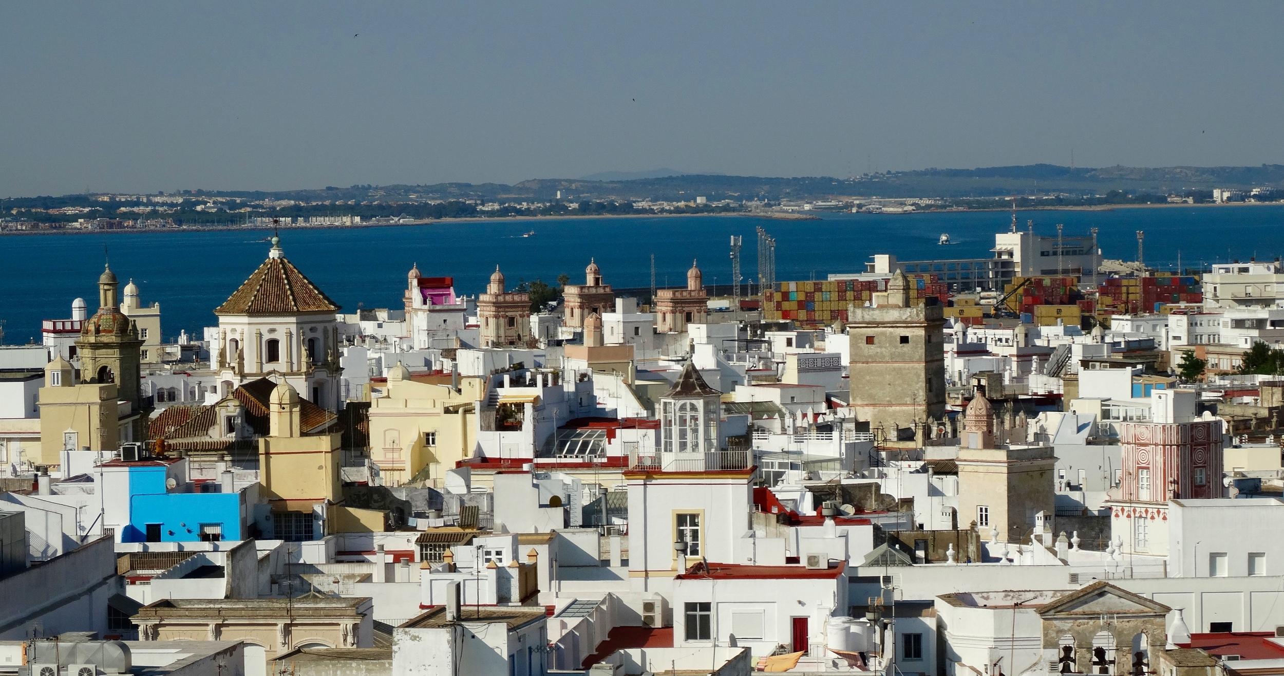 Cadiz's towers