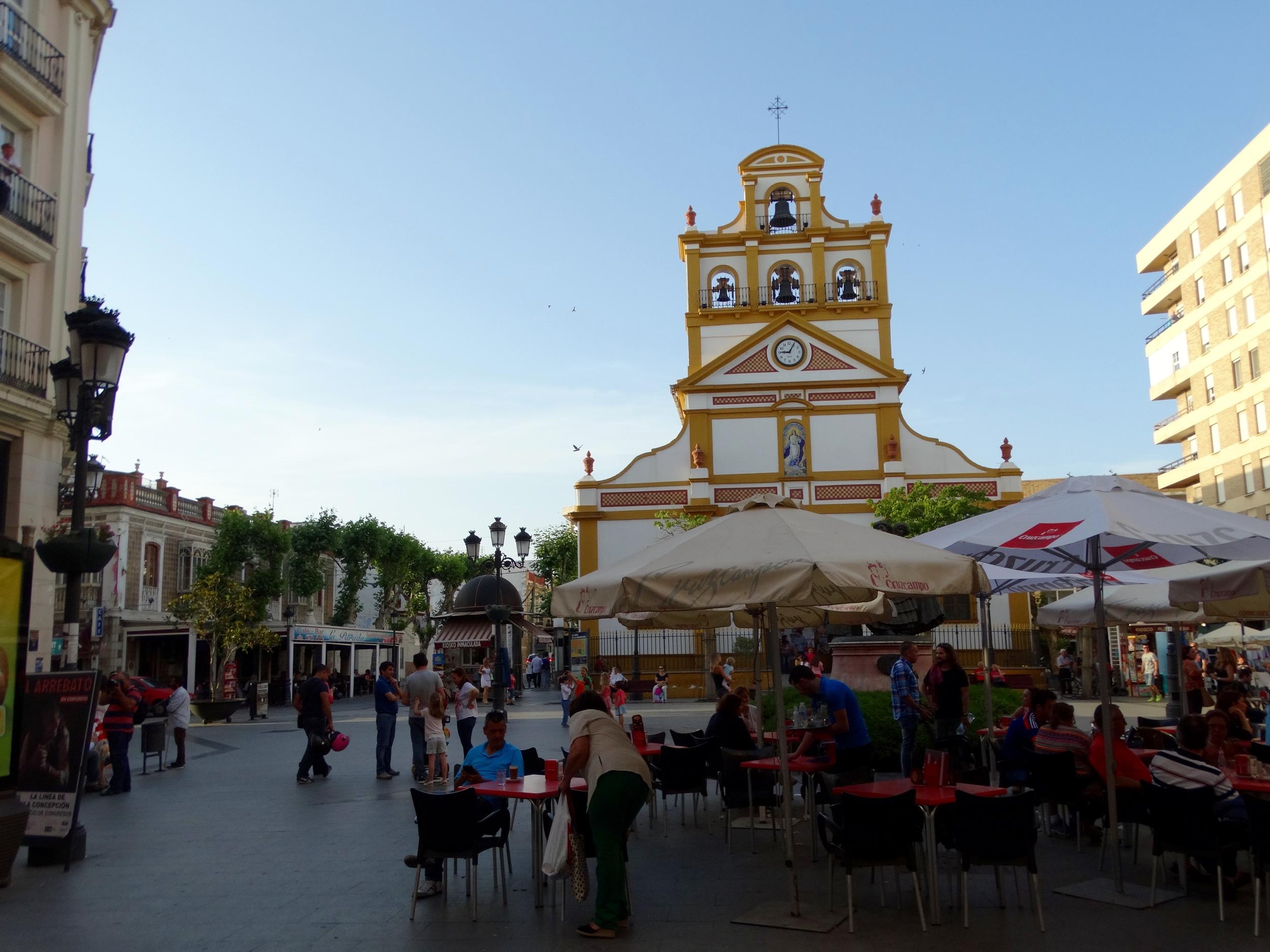 La Linea's church