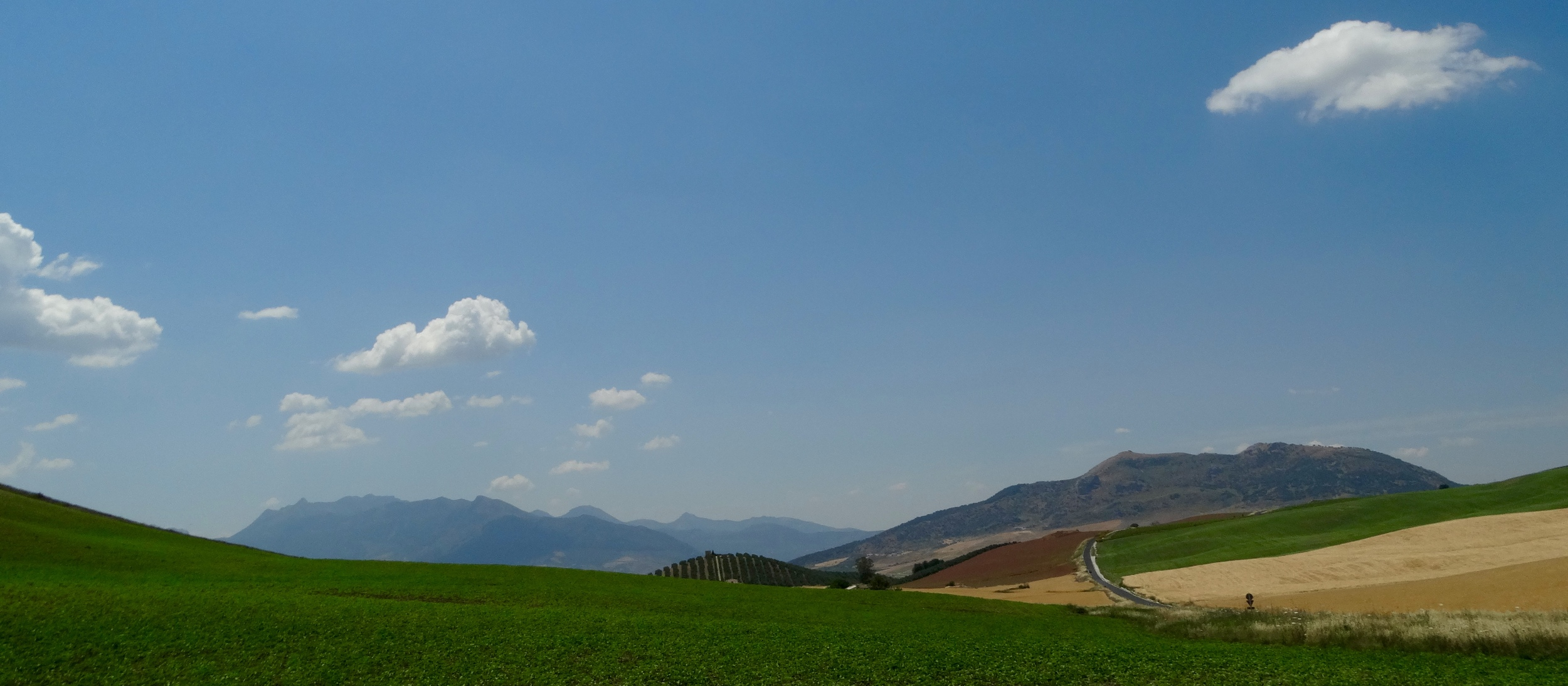 Lands north of Ronda