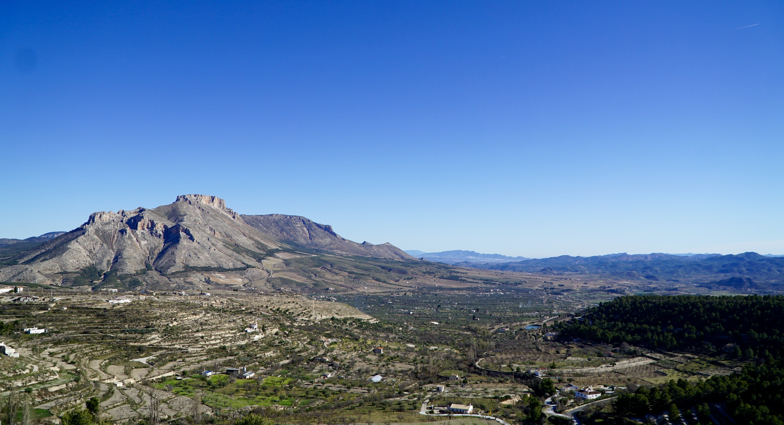 The lands around Velez Blanco