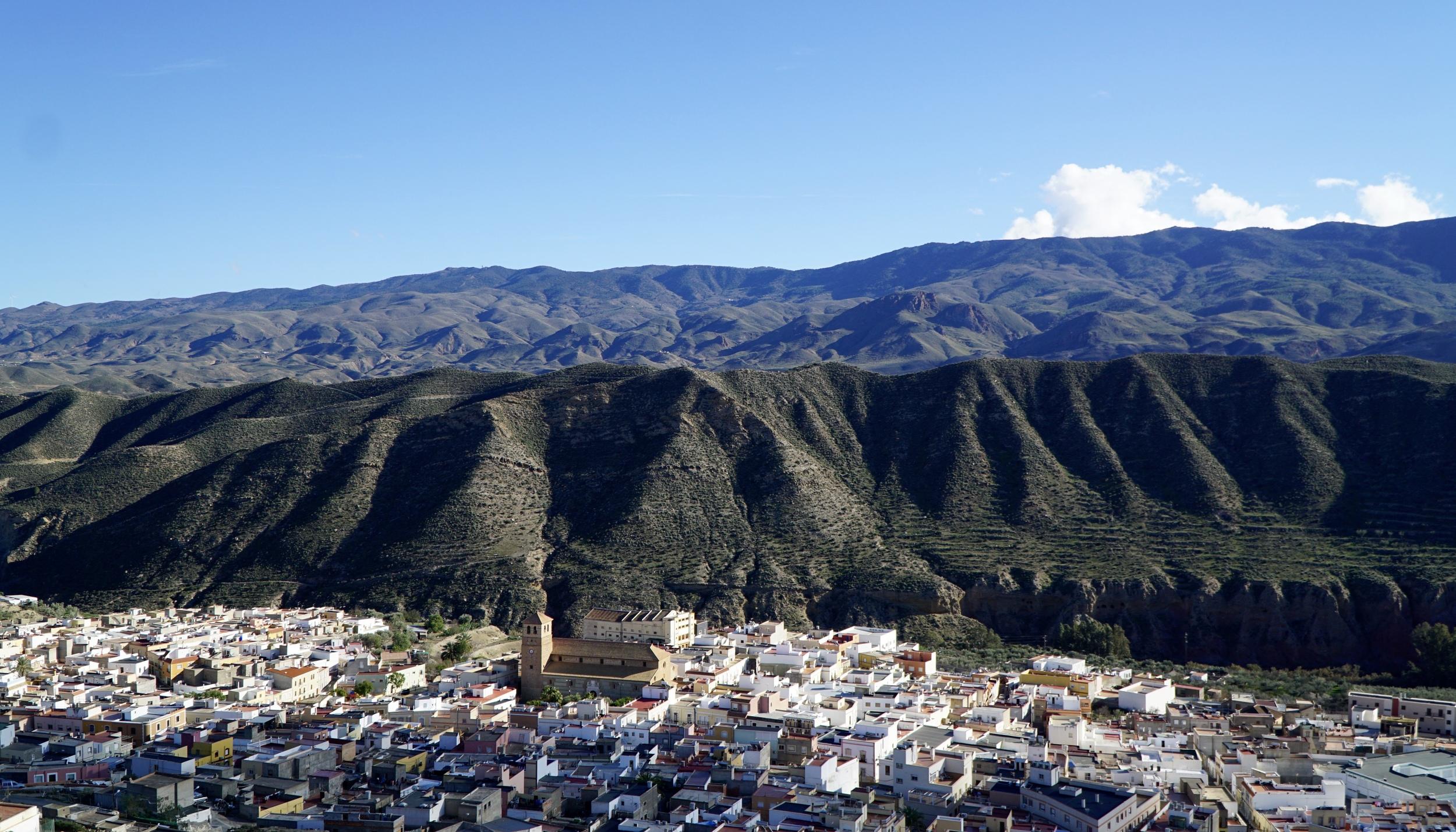 Tabernas town