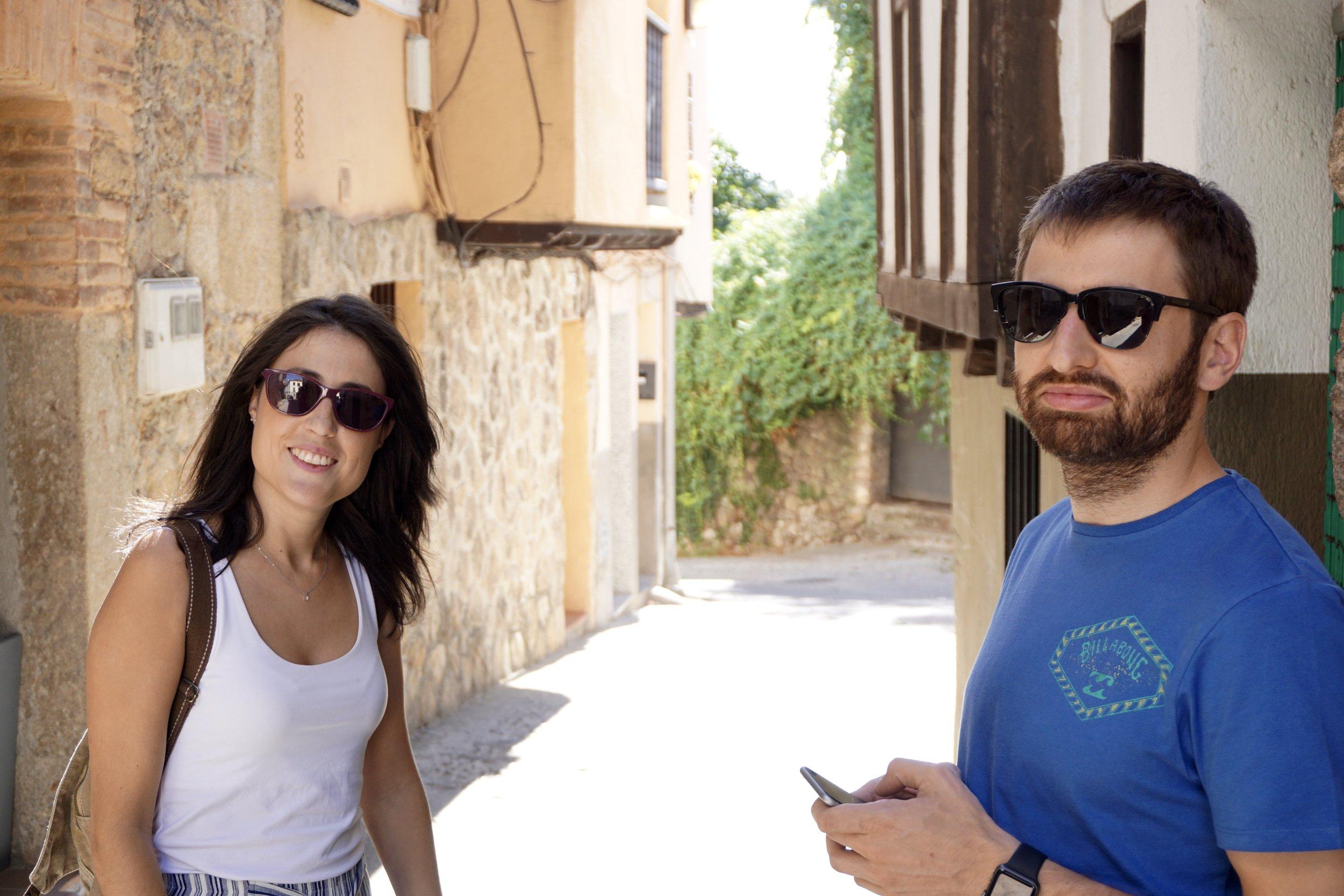 Elena and Carlos.