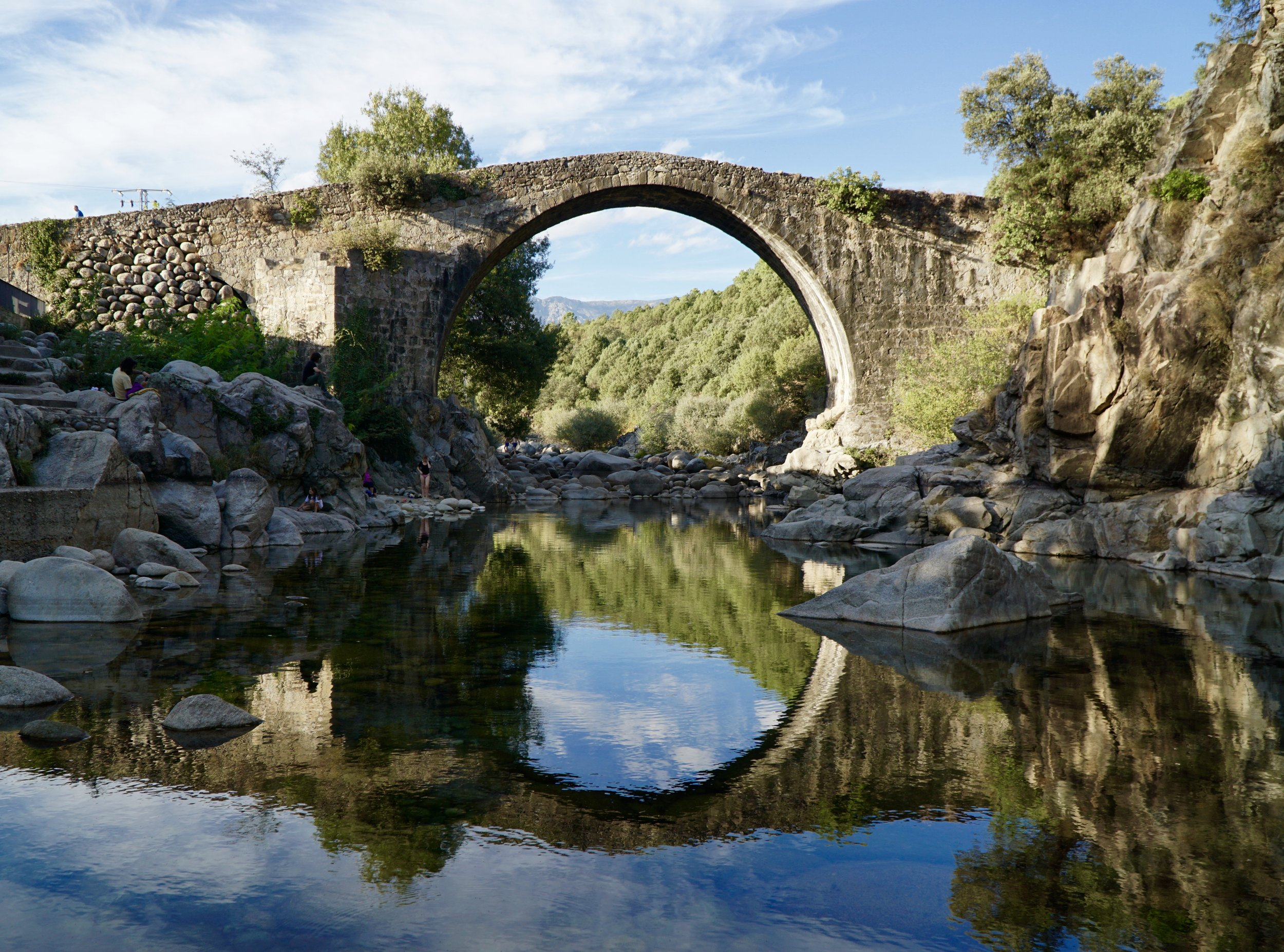 The Puente Romano at Madrigal