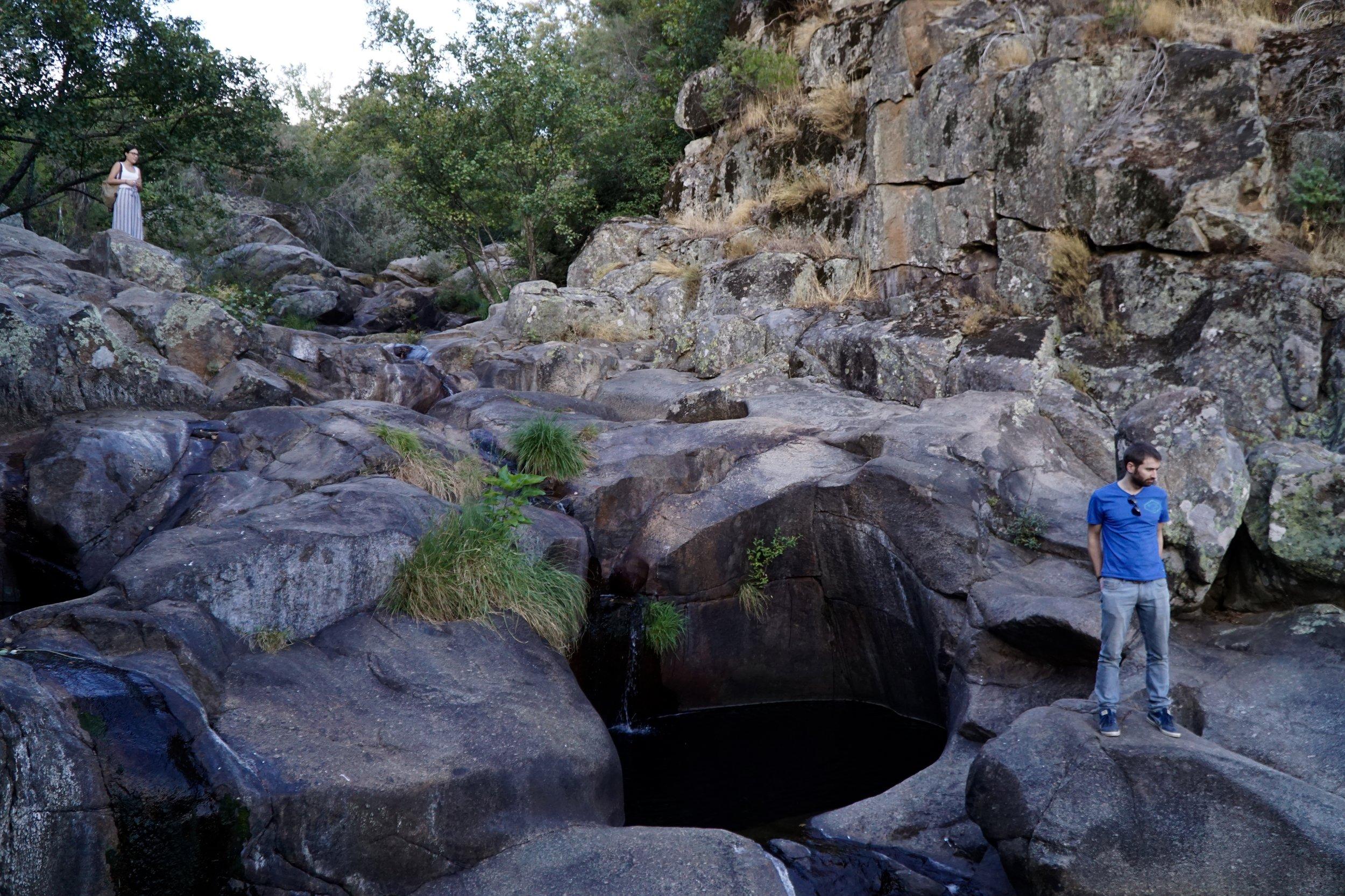 The naked Cascada del Diablo