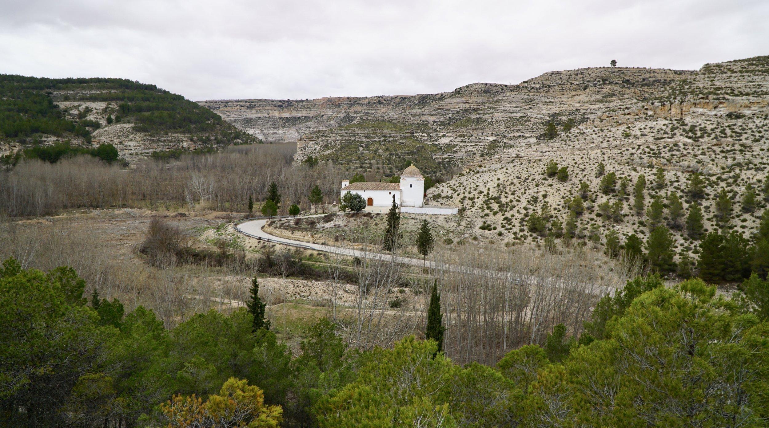Lonely Júcar valley