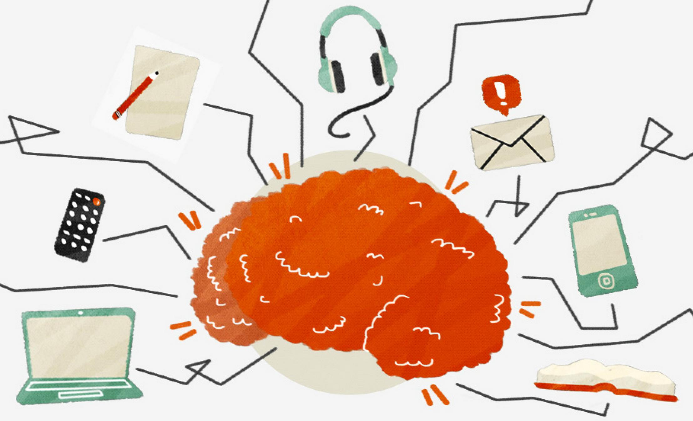 Náš mozog je denne vystavený tisícom rôznych podnetov. Aké sú najlepšie stratégie na vyhnutie sa neefektívneho ?