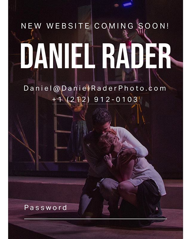 💻 COMING SOON! Stay tuned! www.DanielRaderPhoto.com