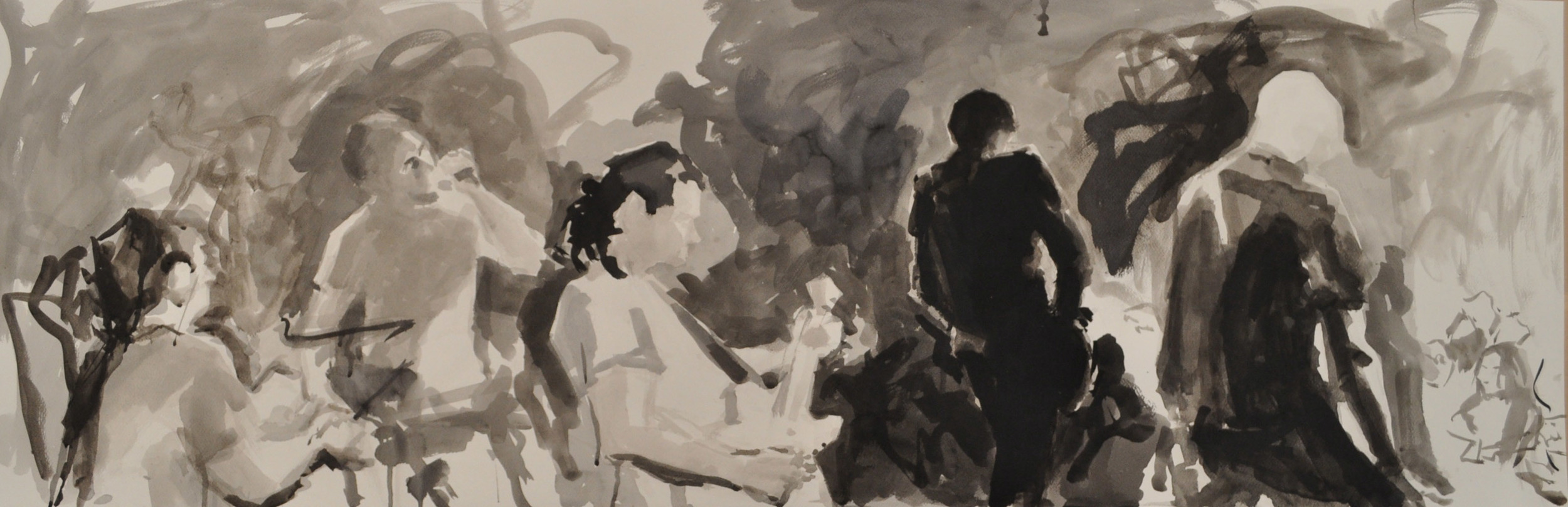 Islington Concert Jesus Jones Drawing