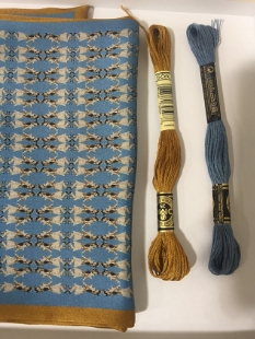 Marriage of Figaro, evening blue. Choosing tassel colours