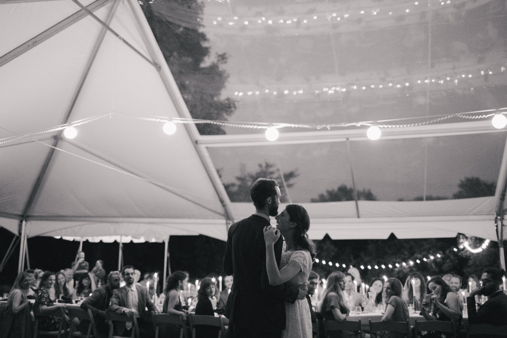 intimate-backyard-wedding-upstate-first-dance