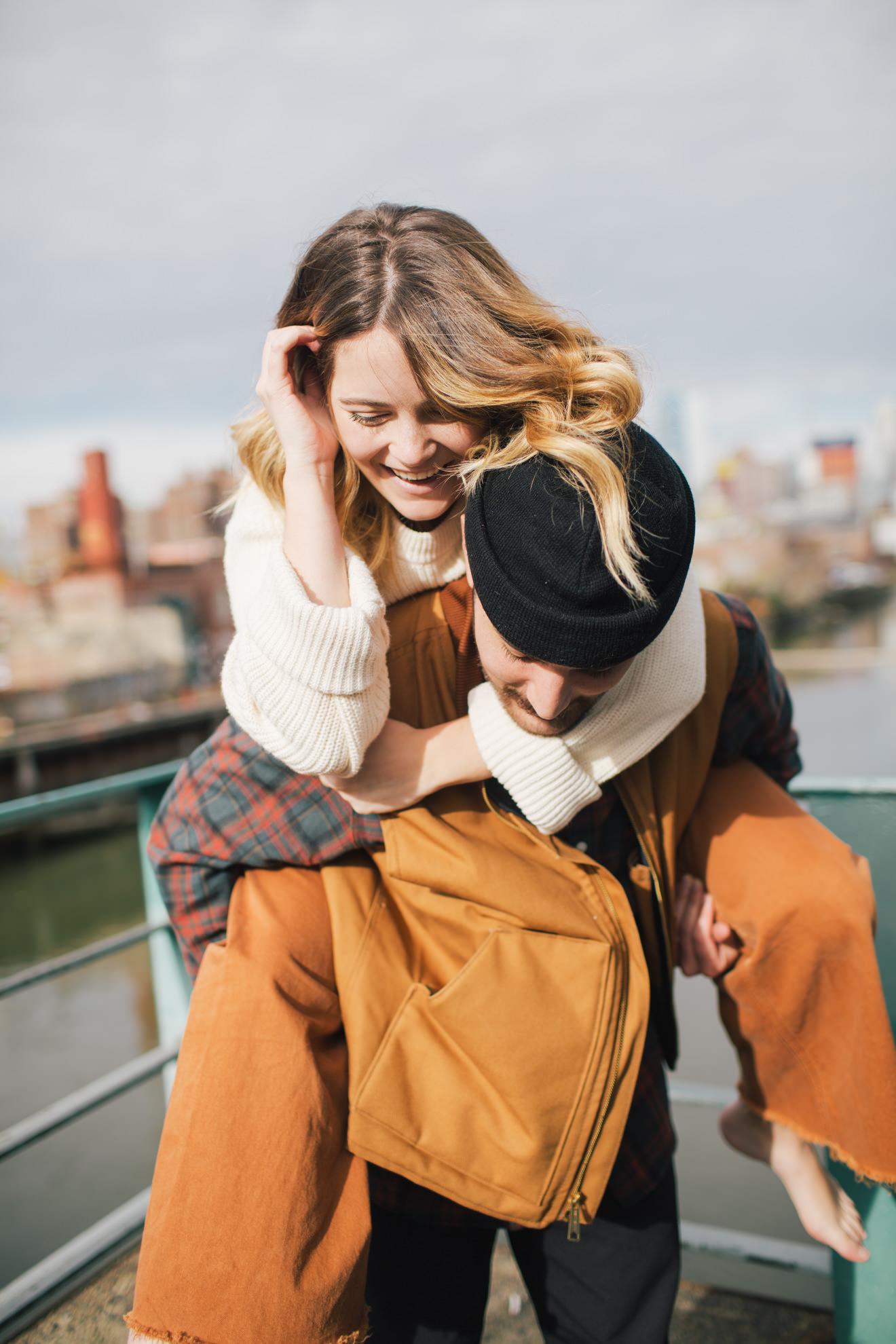 Brooklyn destination couples session adventure photographer