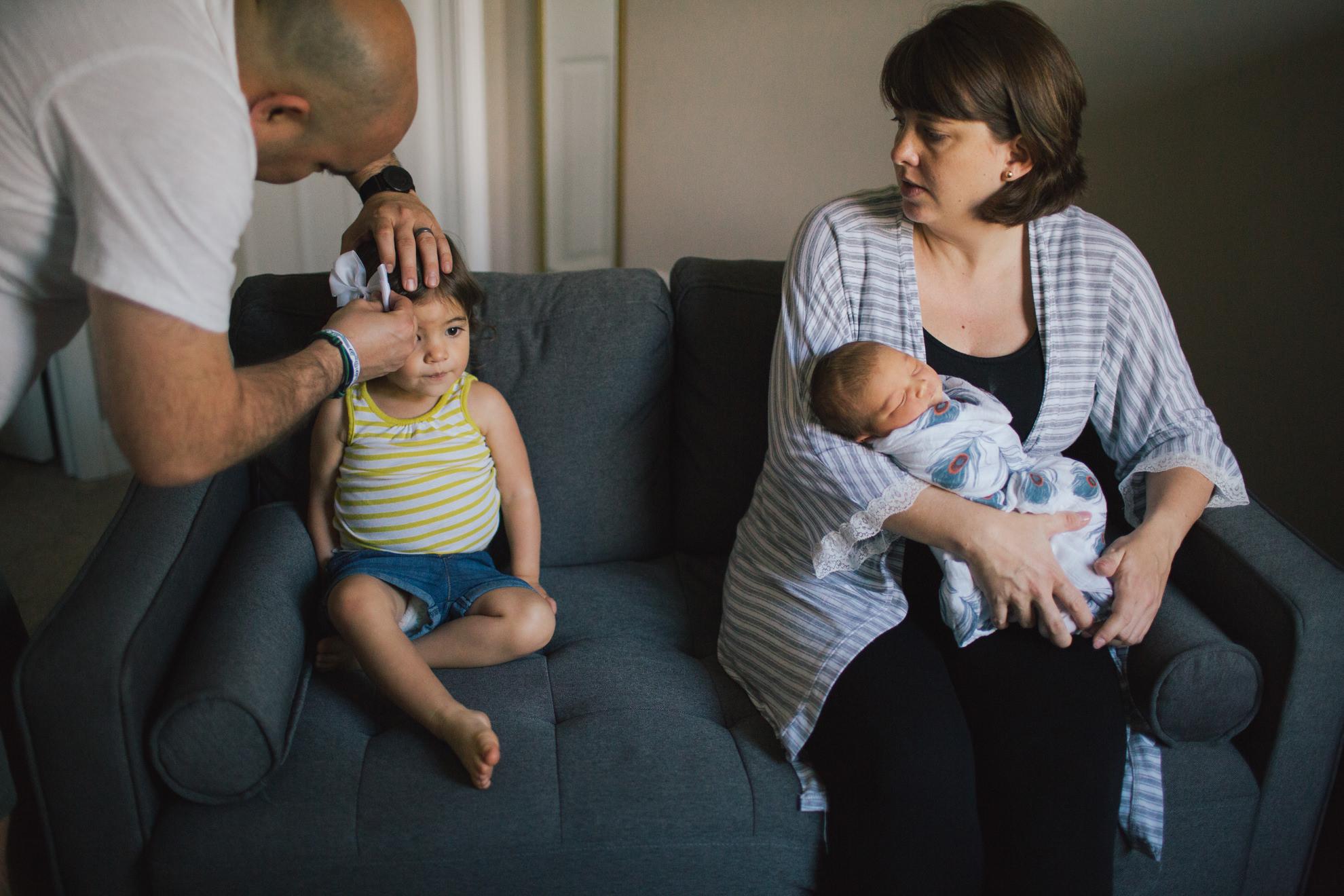 candid Charleston south carolina lifestyle newborn family photographer