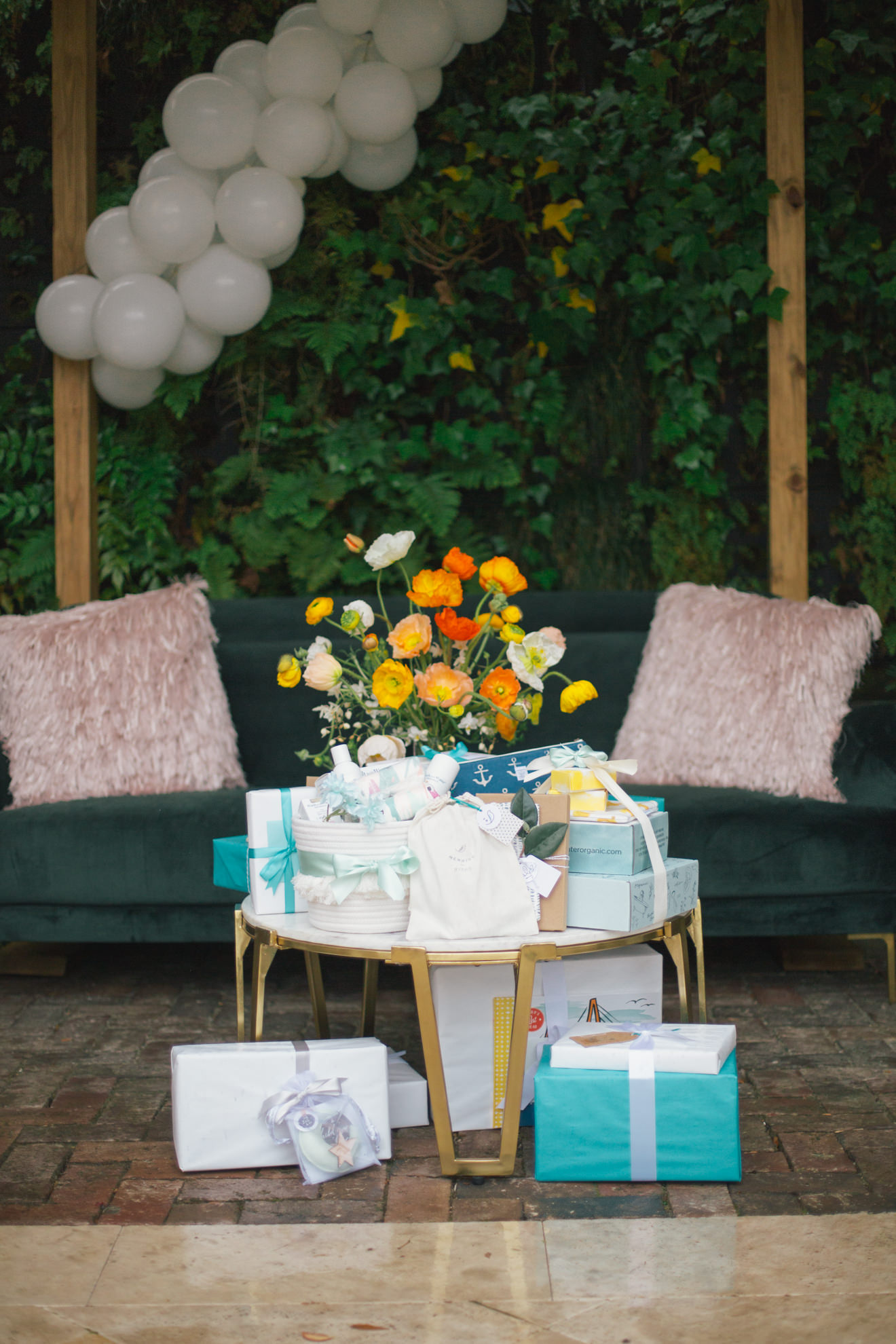 Cannon Green downtown baby shower Adorn Charleston
