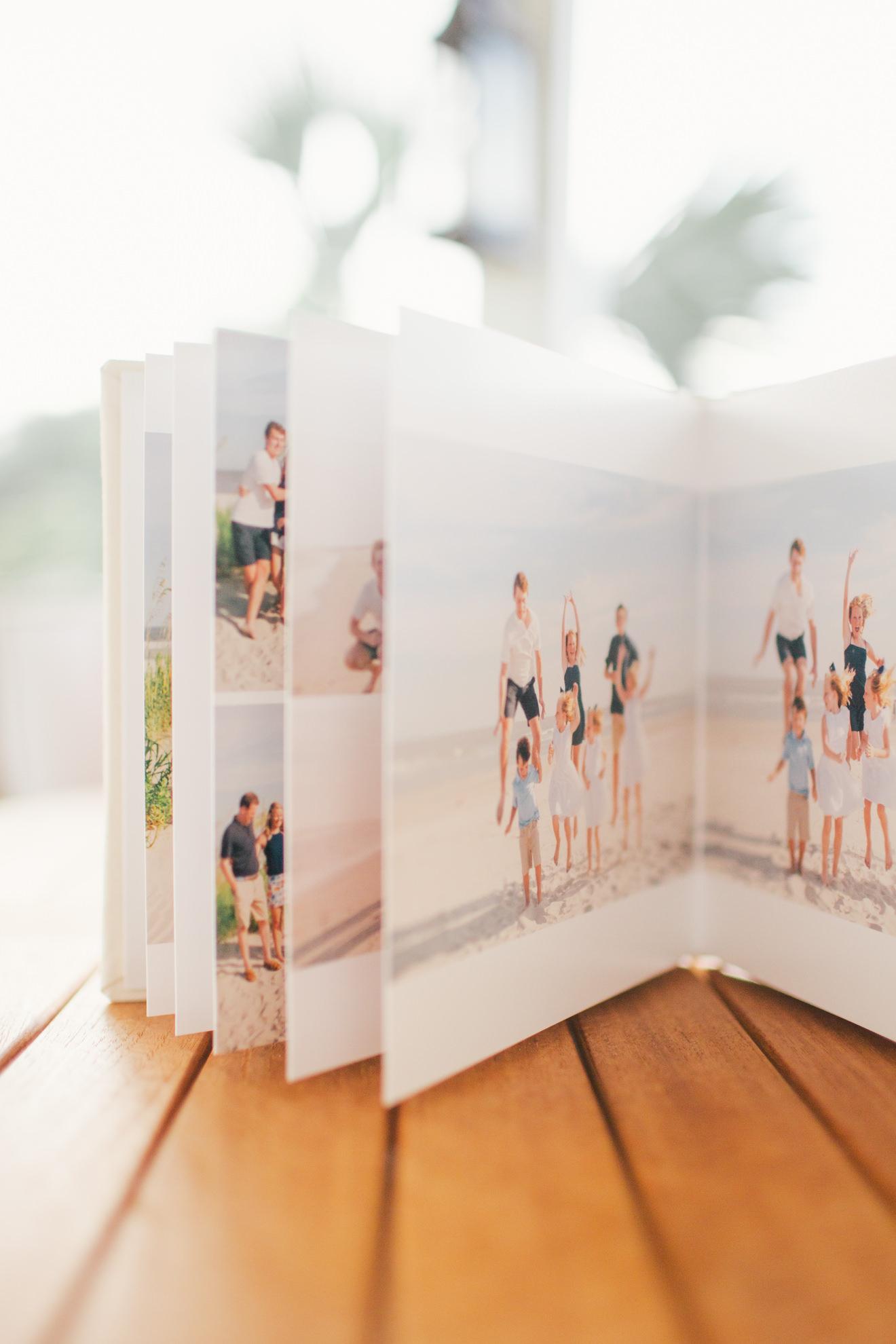 isle of palms charleston family photographer album kiss books