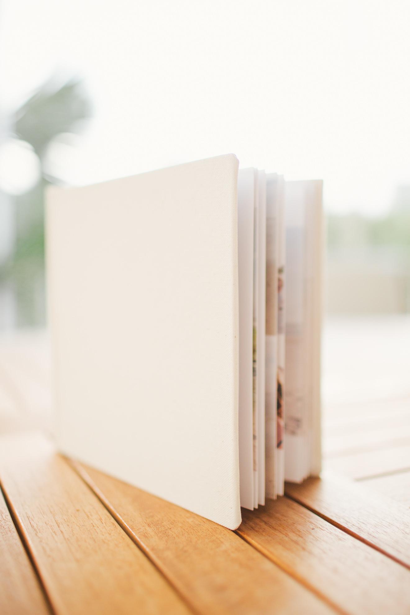 isle of palms charleston family photographer linen photo album kiss books