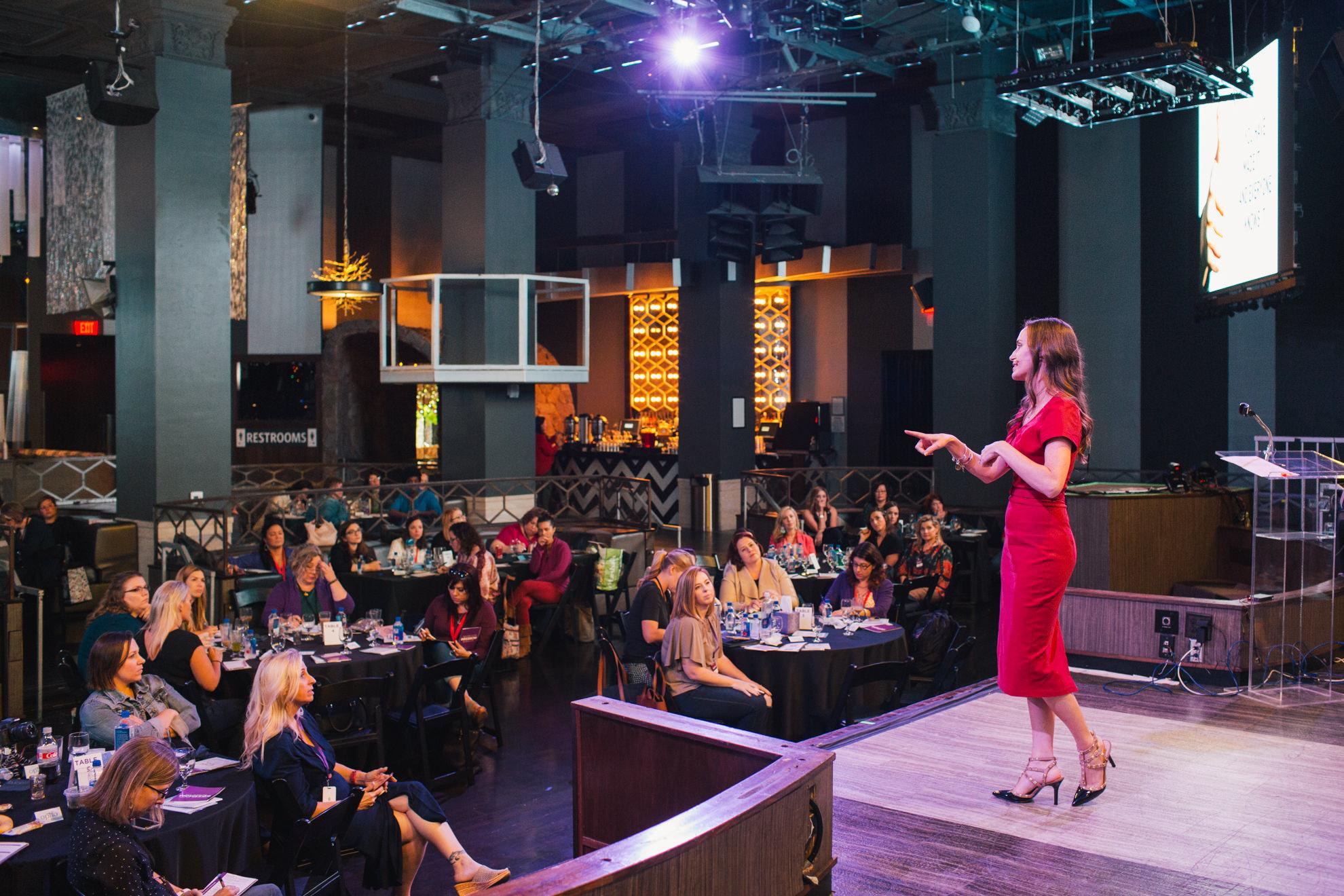 Christina Nicholson speaker Boss Mom Retreat 2018 San Diego