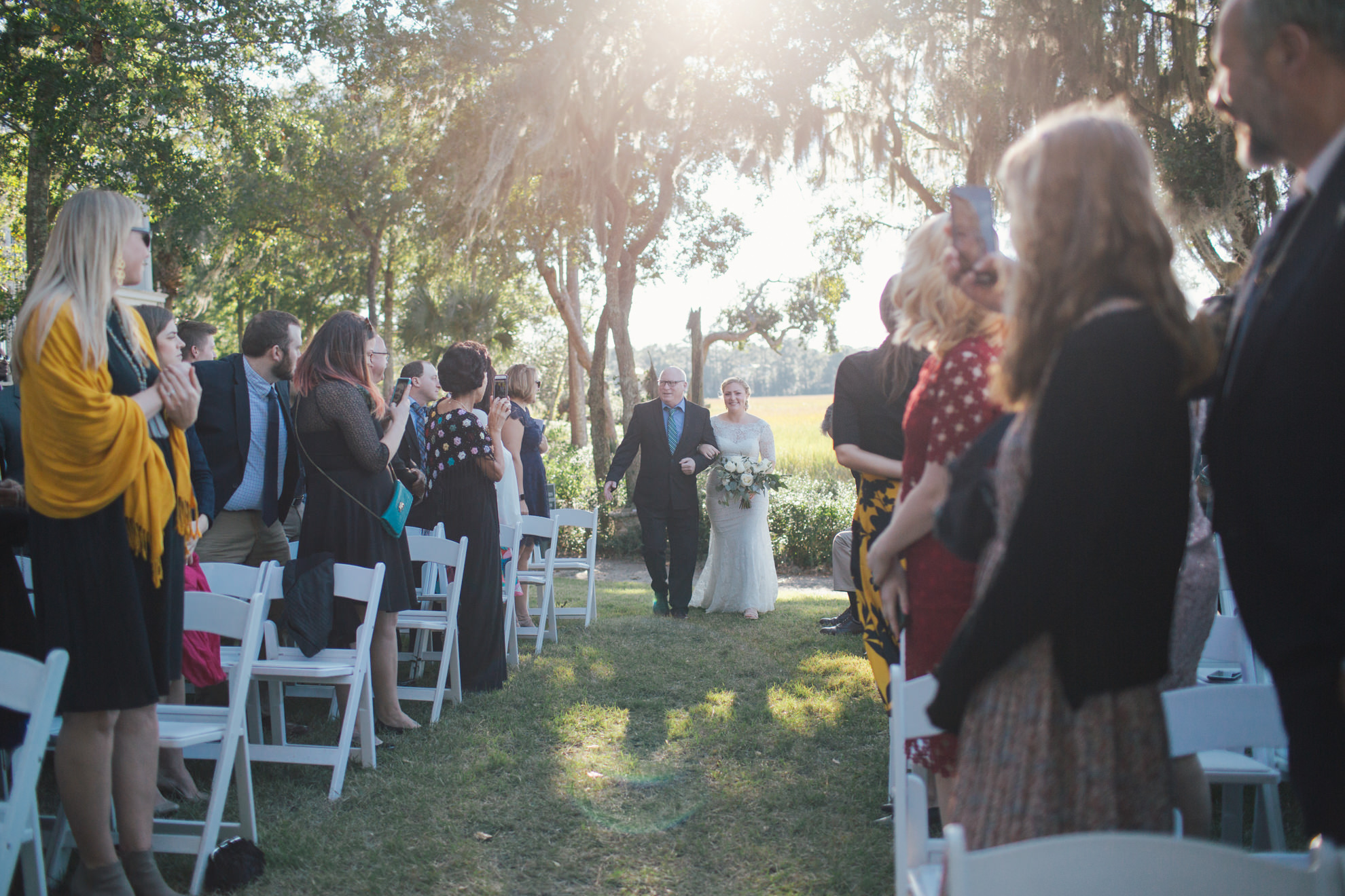 Lovecraft Events Charleston wedding Creek Club at I'On
