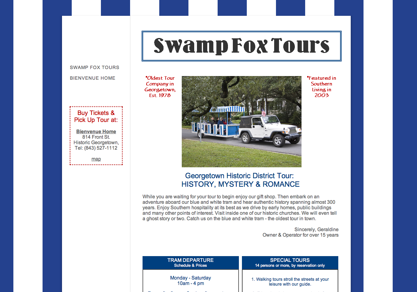 Swamp Fox Tours