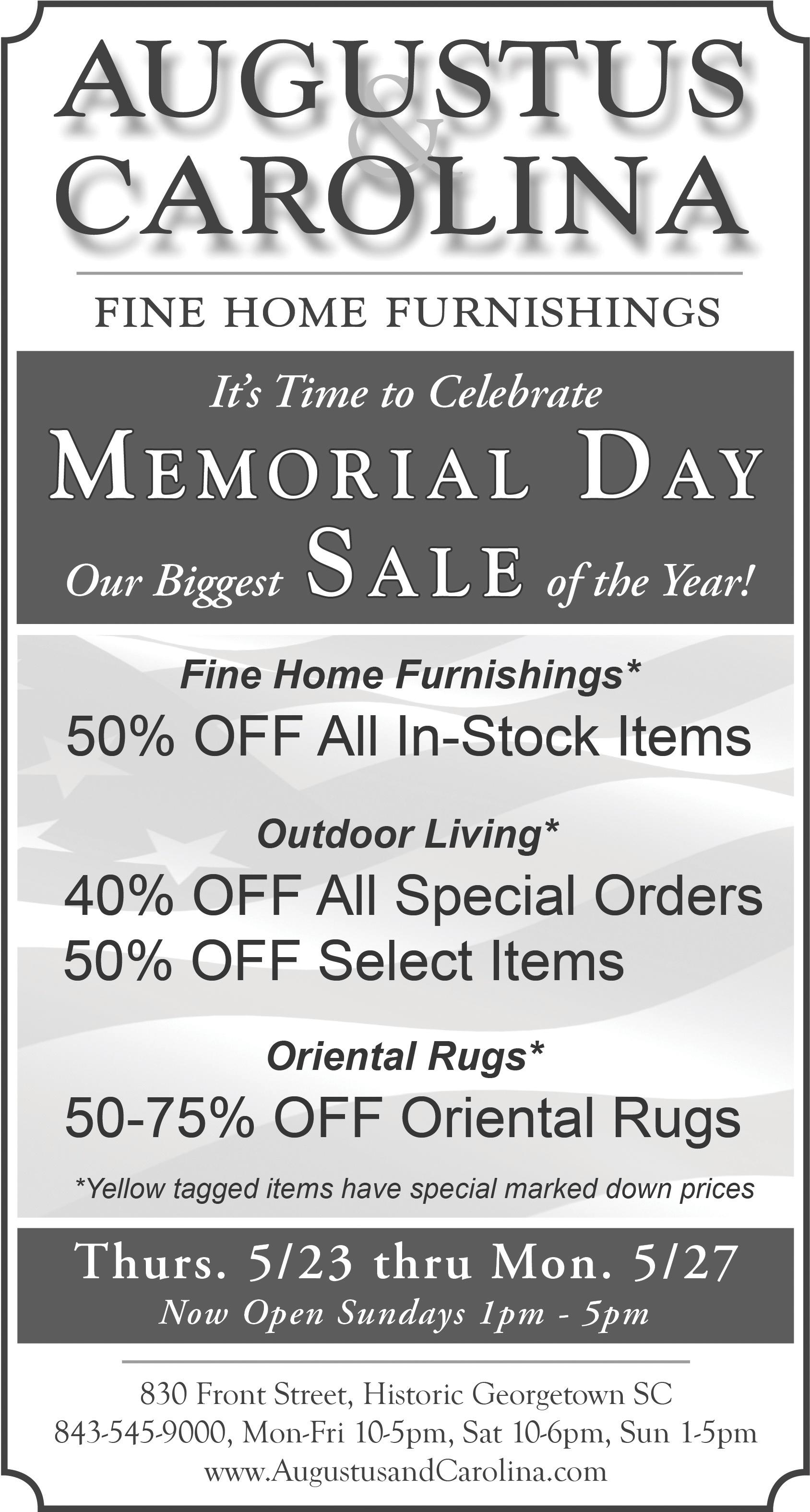 Memorial Day Sale BW.jpg